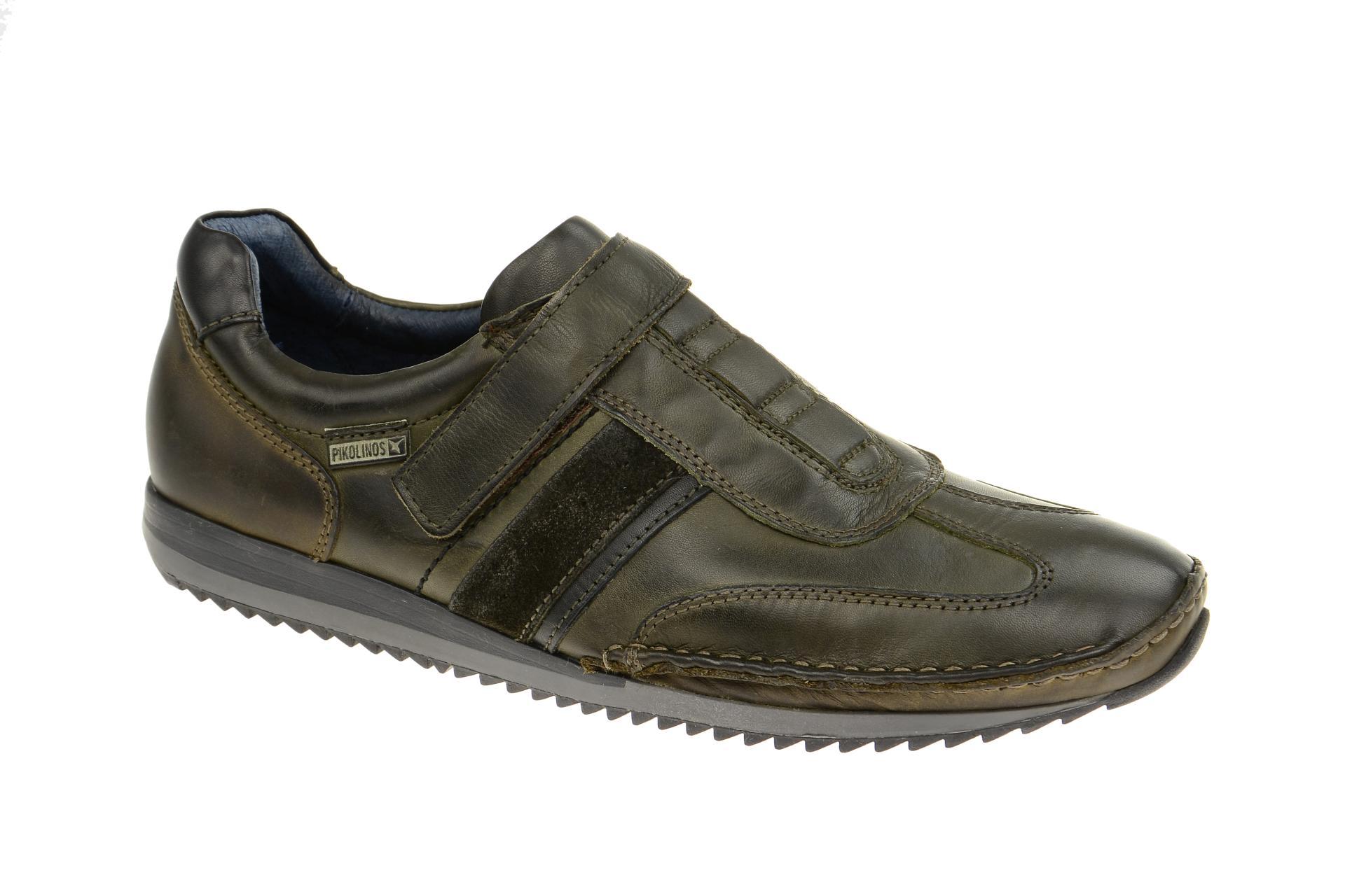 pikolinos sneakers liverpool gr n herren leder slippers. Black Bedroom Furniture Sets. Home Design Ideas