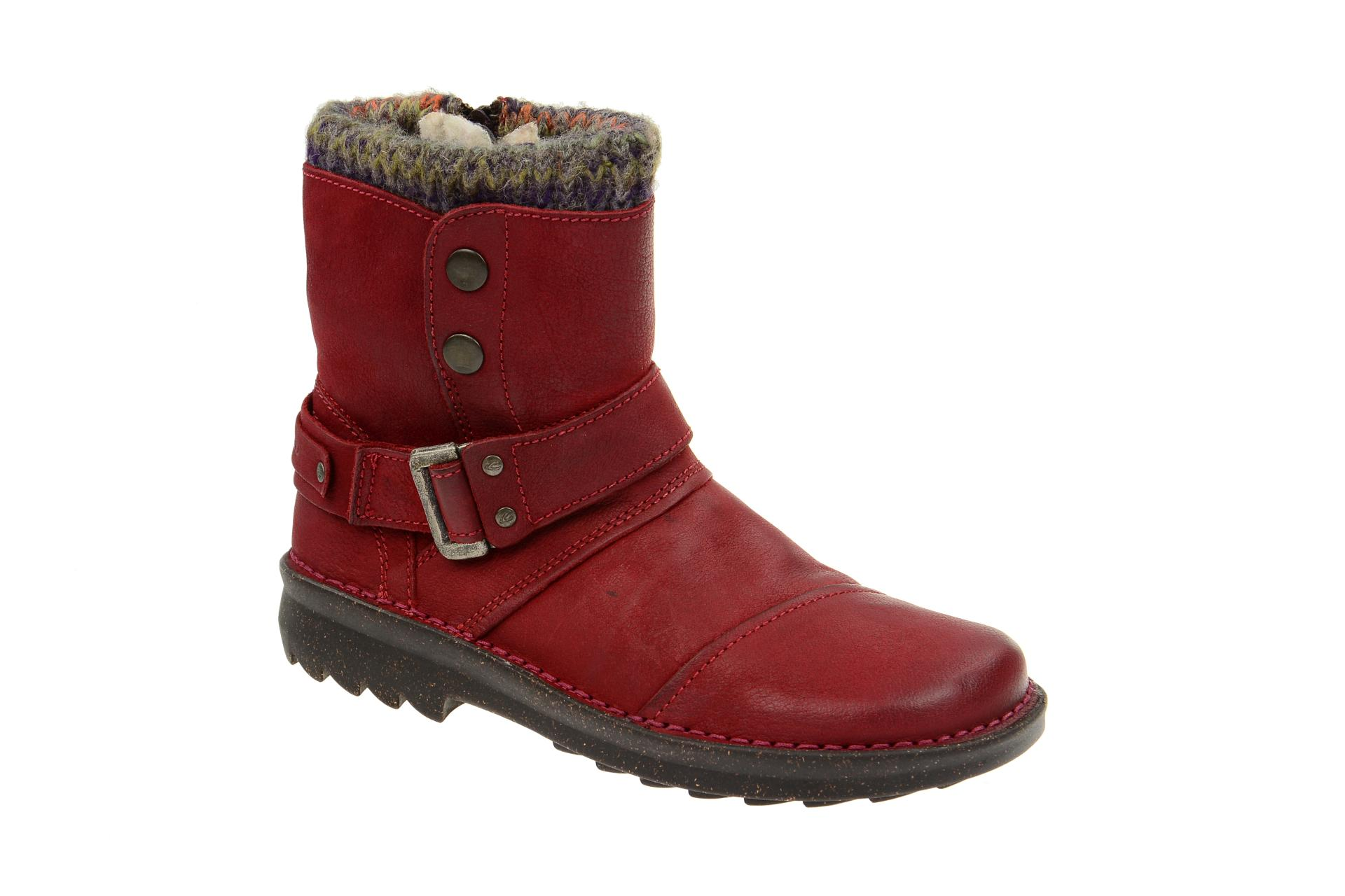 info for 47d4c bb932 camel active Ontario 28 Stiefelette rot