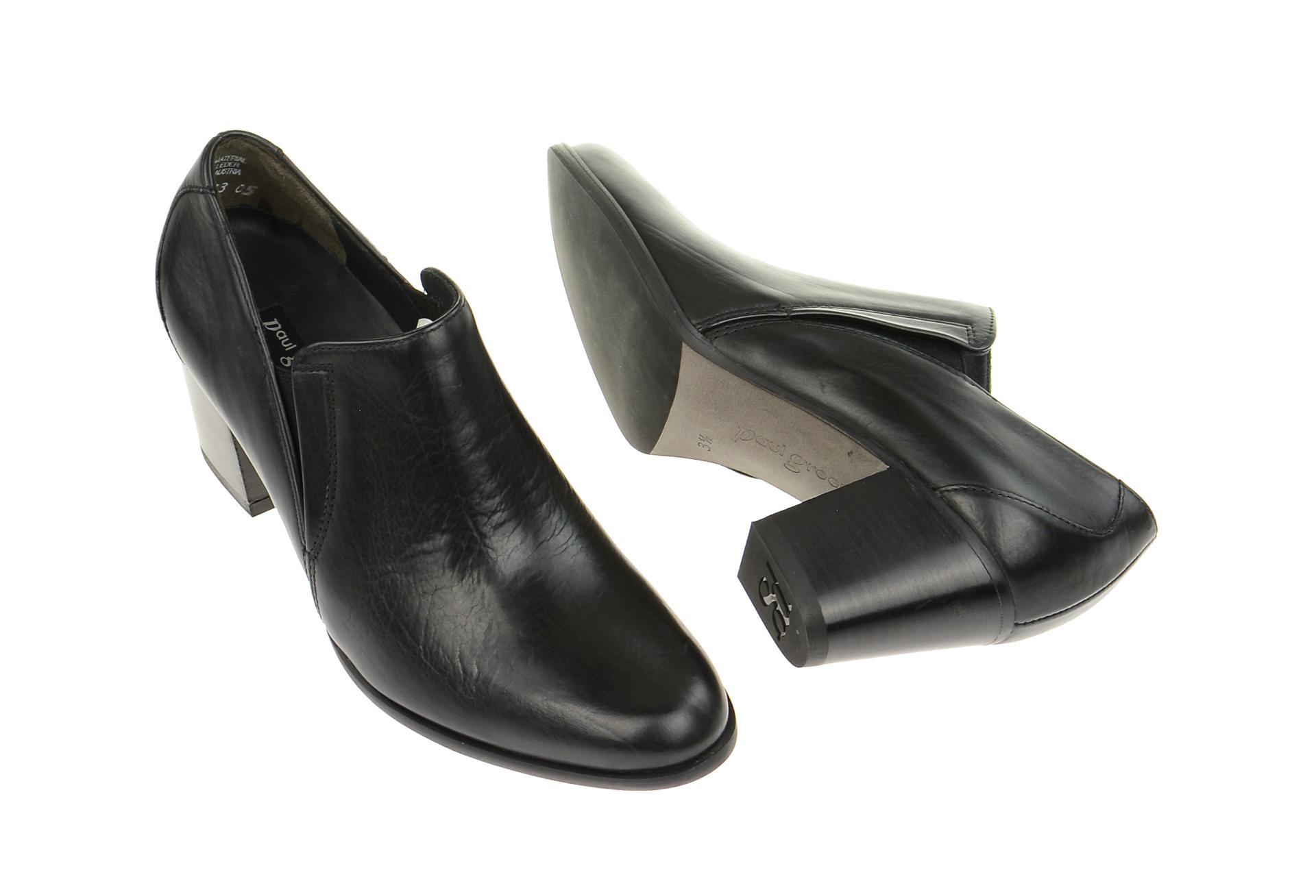paul green schuhe slipper schwarz gr 39 3283 004. Black Bedroom Furniture Sets. Home Design Ideas