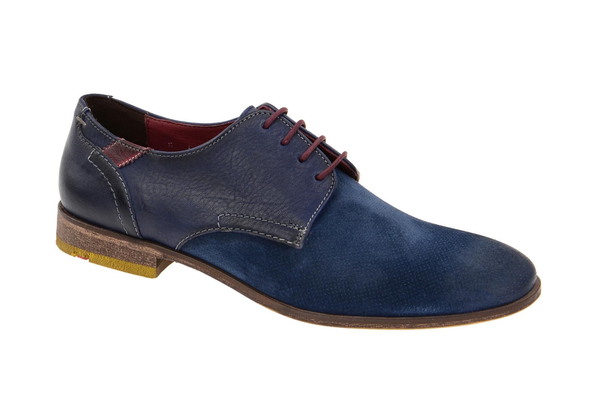 brand new c04c6 a8f53 Lloyd Gardell Schuhe blau jeans Business