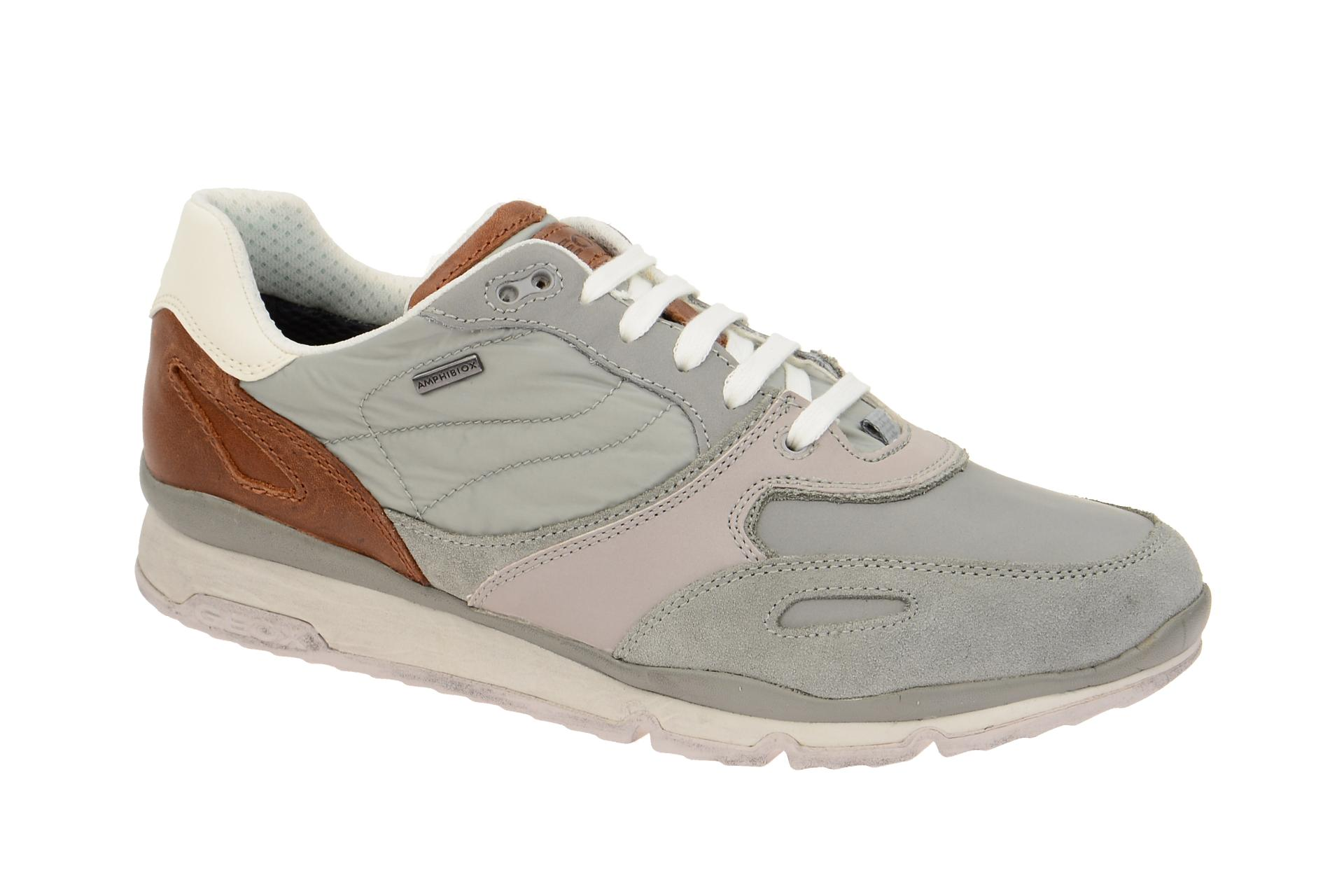 Geox Sandro Schuhe schwarz grau Wasserdicht U44S7A Best Store