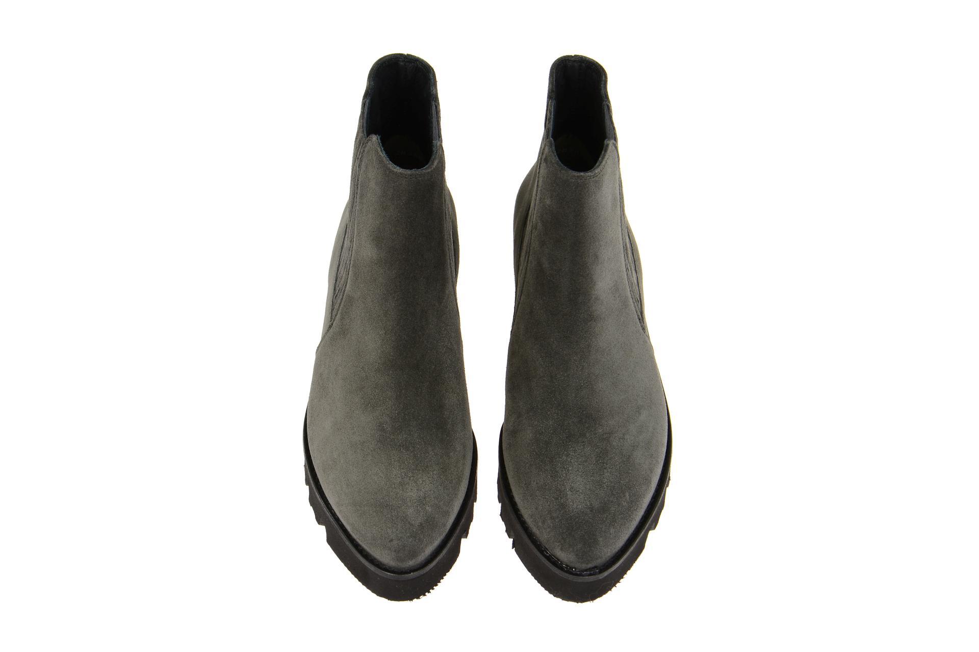 paul green stiefelette grau chelsea boots gr 37 8872 006. Black Bedroom Furniture Sets. Home Design Ideas