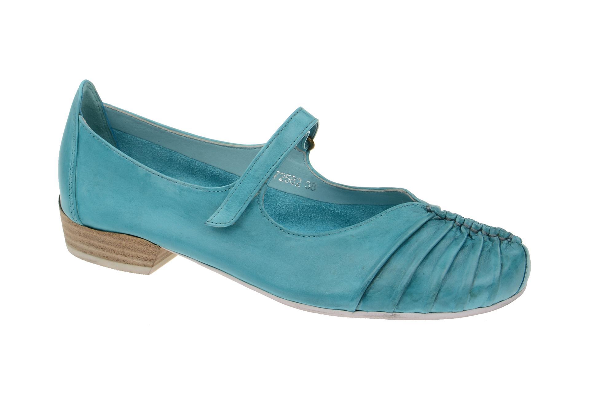low priced c4185 62216 Everybody Pumps Slipper blau türkis 2296