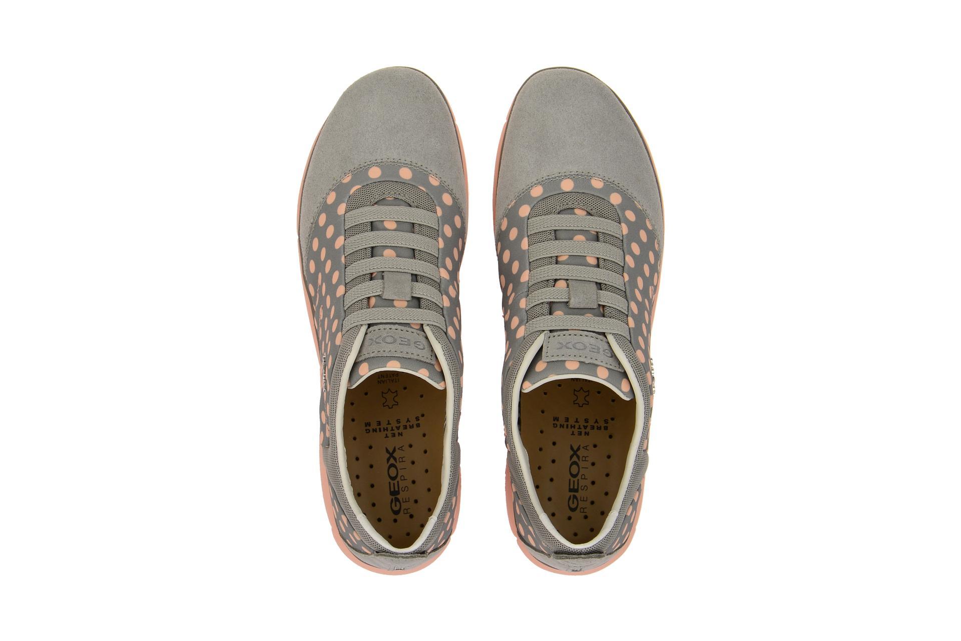 e04e14b46fc1d0 Geox Schuhe NEBULA grau Damenschuhe sportliche Slipper D621EC 01122 C9149  NEU