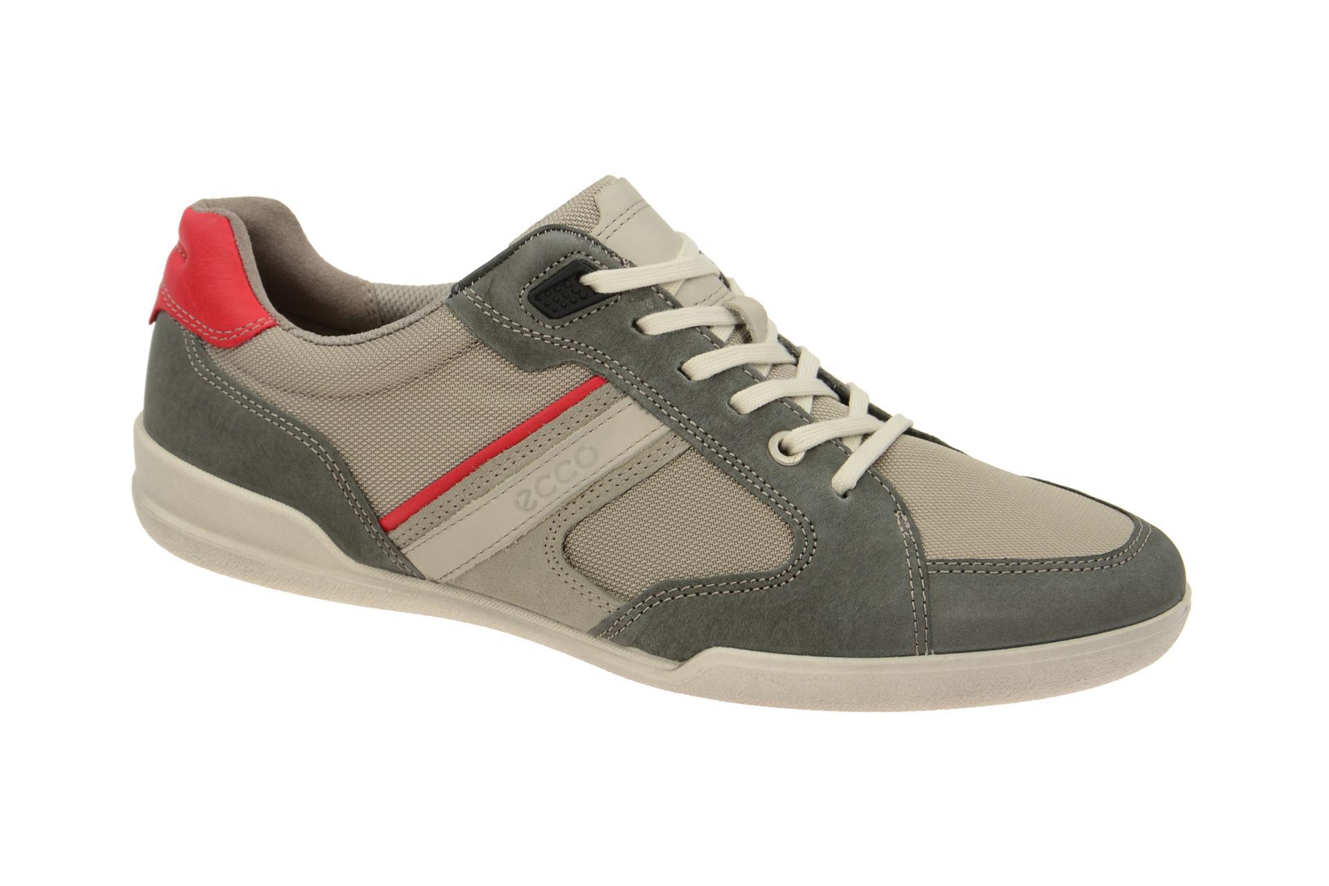 34f4e551c4c6bb Ecco Enrico Schuhe grau mix Sneaker - Schuhhaus Strauch Shop