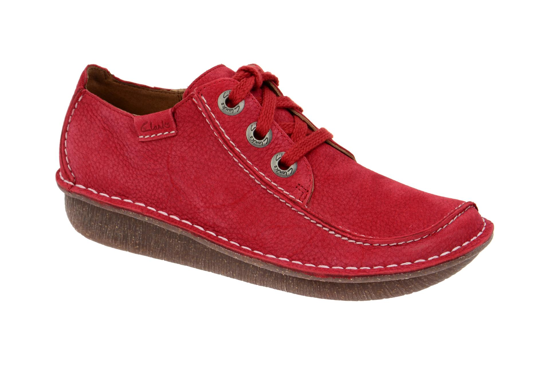 riesige Auswahl an aktuelles Styling niedrigerer Preis mit Clarks Funny Dream Schuhe hell-rot
