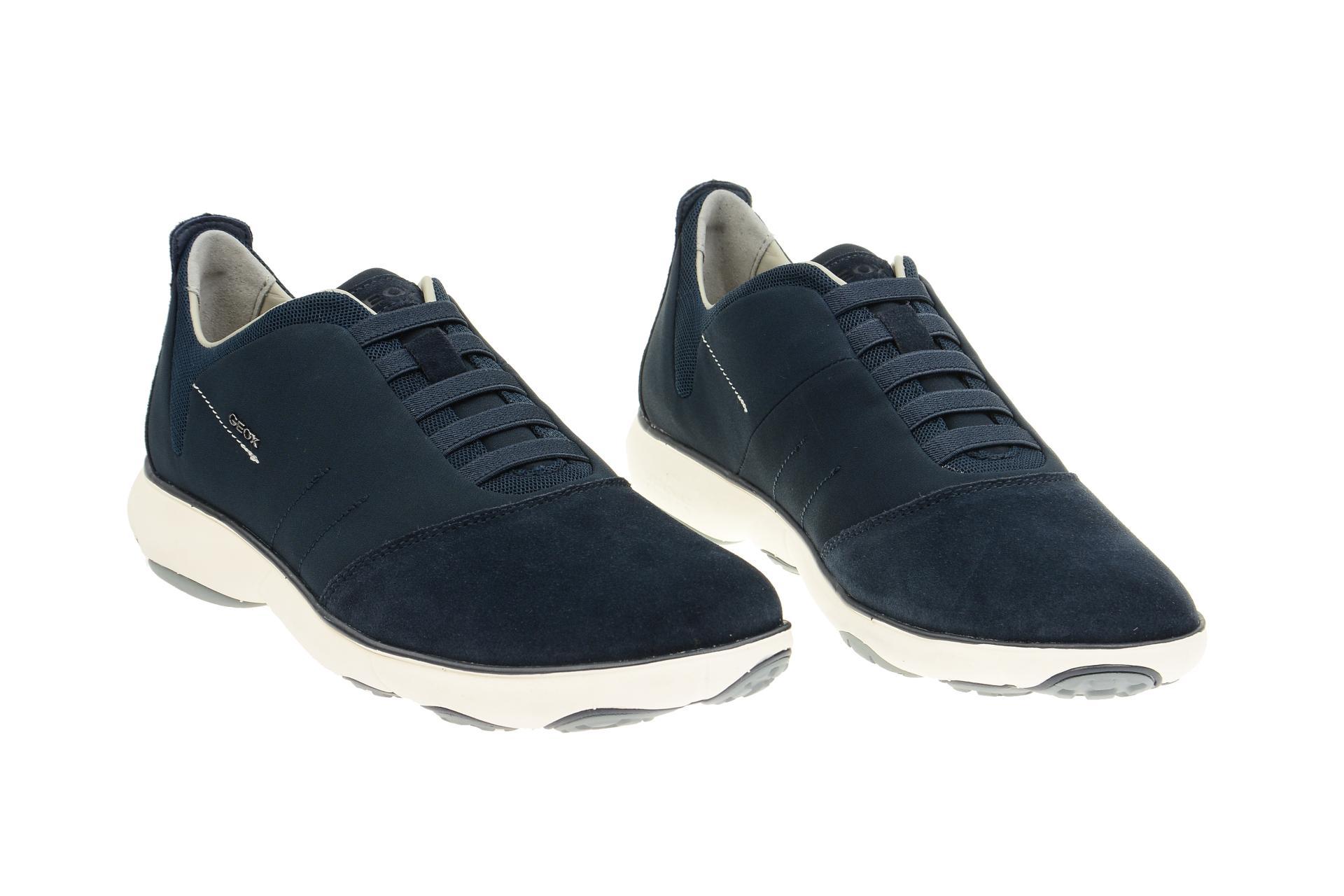 Geox Schuhe NEBULA blau Herrenschuhe bequeme Slipper U52D7B 0ZB22 C4002 NEU
