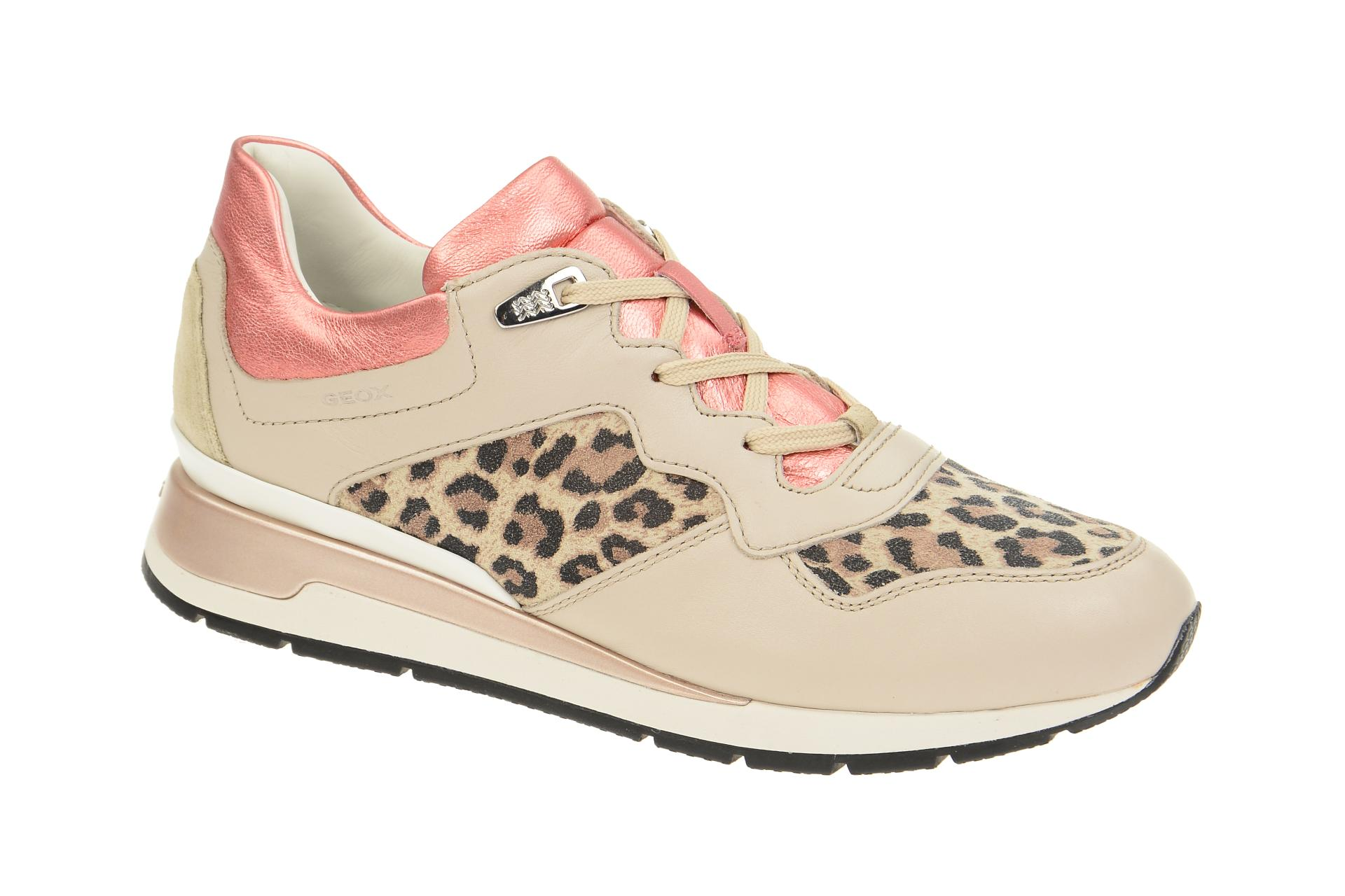 Shop Beige Strauch Schuhe Schuhhaus Leo Geox Mix Shahira HYID2WE9