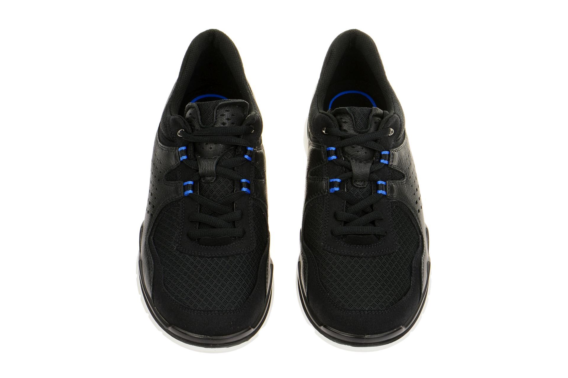 ecco lynx schuhe schwarz sneakers gr 42 43 schuhhaus strauch shop. Black Bedroom Furniture Sets. Home Design Ideas