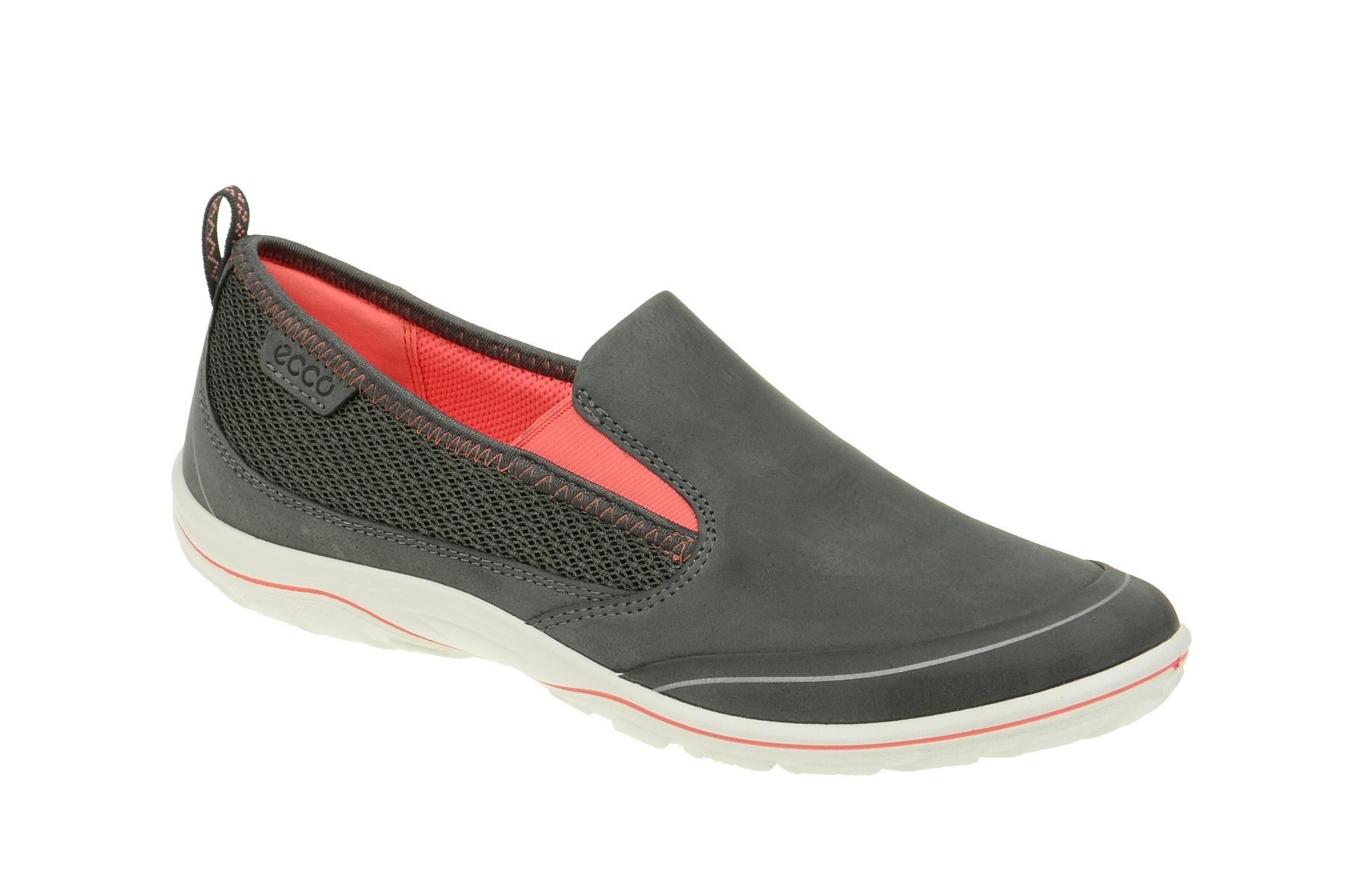 7c78f9f1423a87 Ecco Arizona Damen Slipper dunkel-grau - Schuhhaus Strauch Shop
