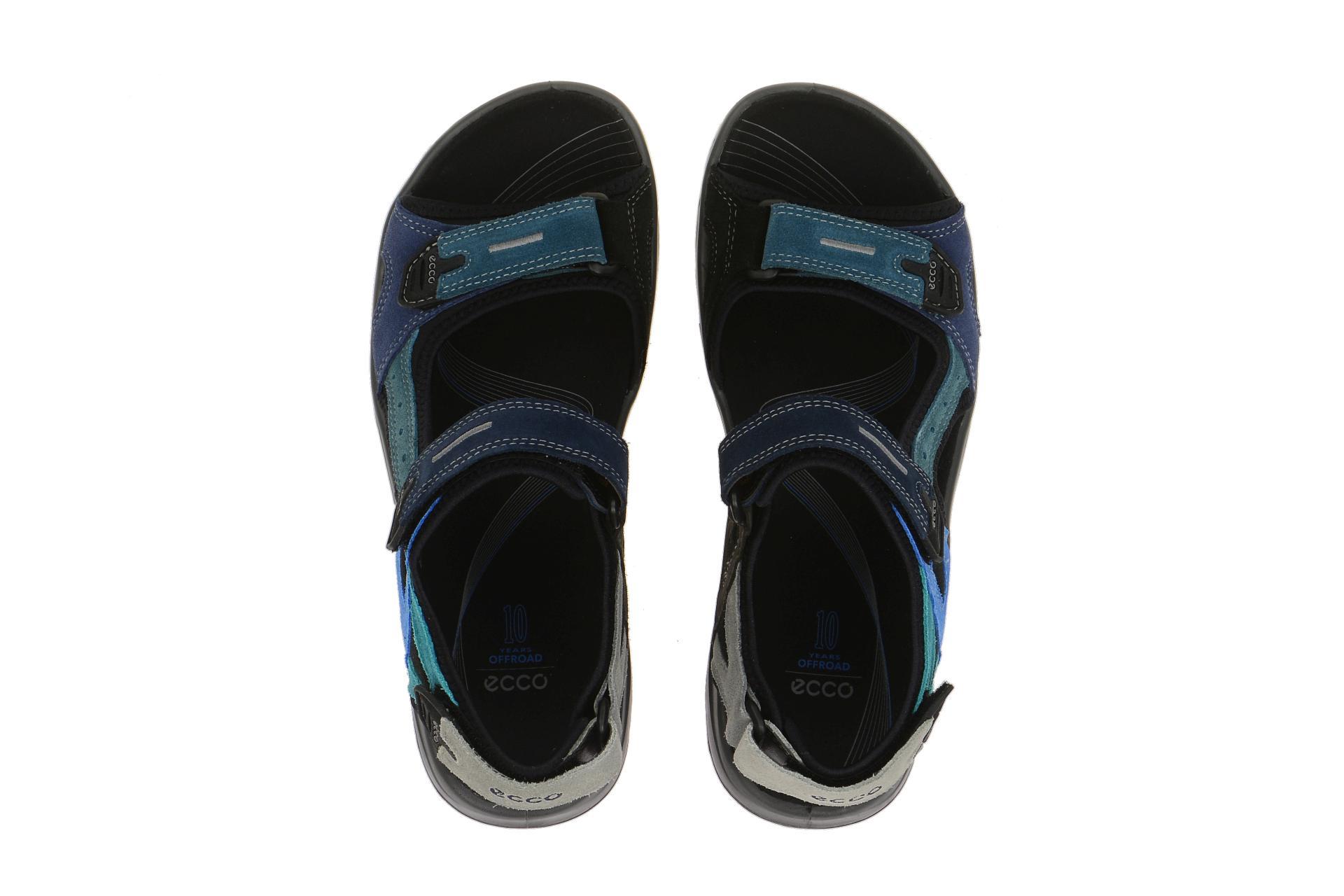 ecco offroad sandale blau multi gr 48 schuhhaus strauch shop. Black Bedroom Furniture Sets. Home Design Ideas