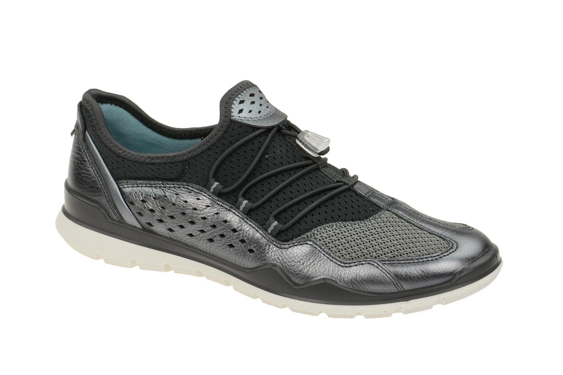 63db413b6a3169 Ecco Lynx Schuhe grau metallic Gr 35 - Schuhhaus Strauch Shop
