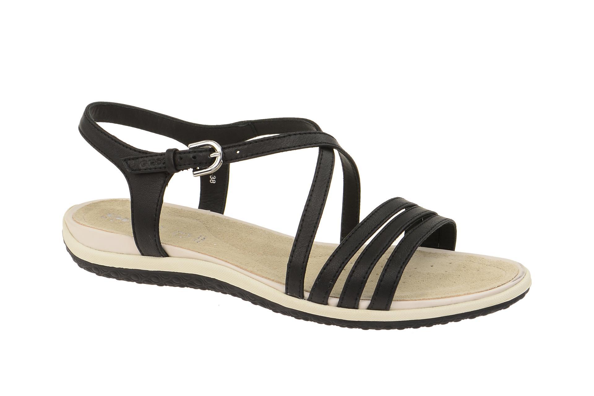 Geox Sandale Vega schwarz - D62R6C 00085 C9999 - Schuhhaus Strauch Shop 3efe18a326