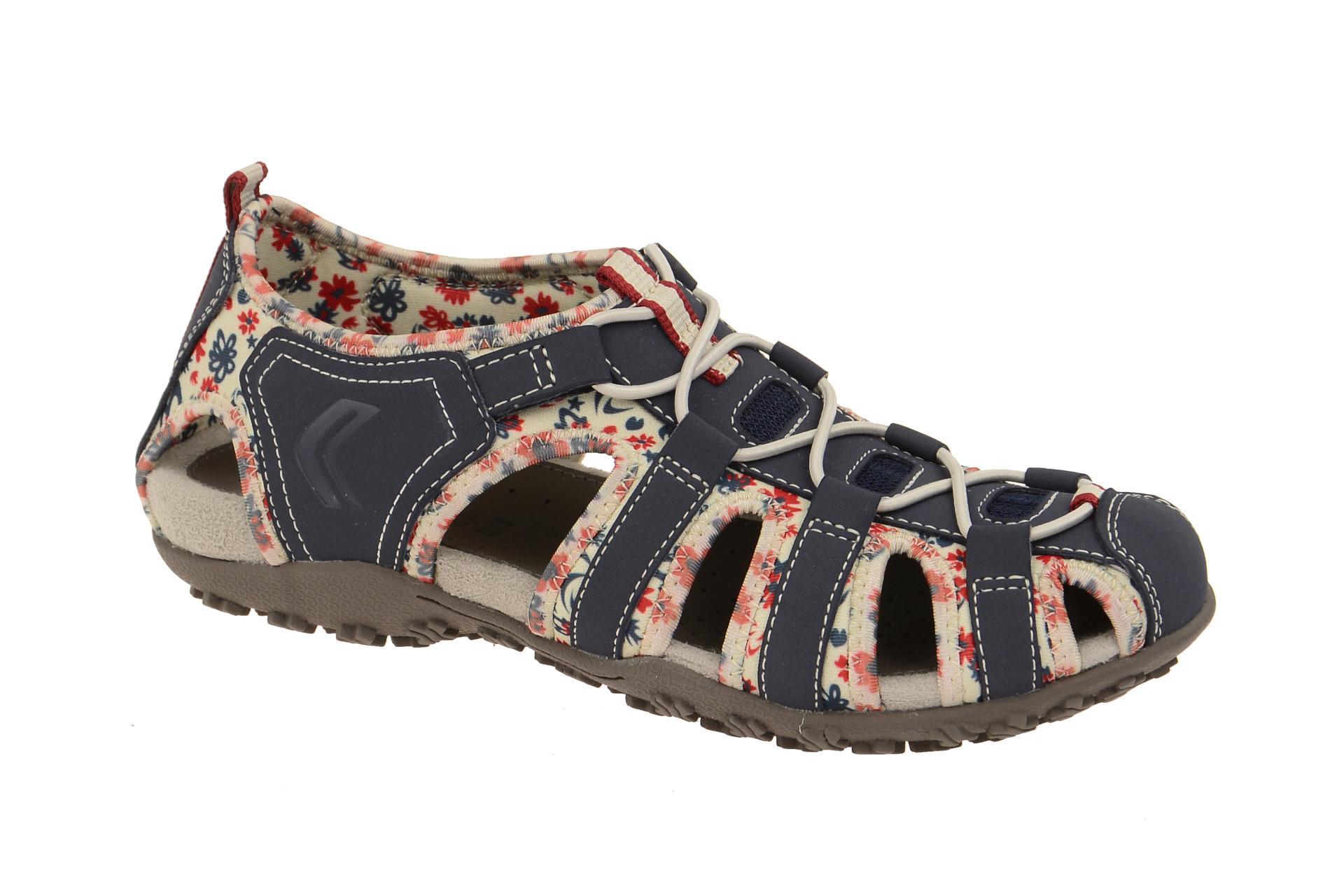 4bdf02f972f98e Geox Strel Sandalette blau - D7125U 054EE C4243 - Schuhhaus Strauch Shop