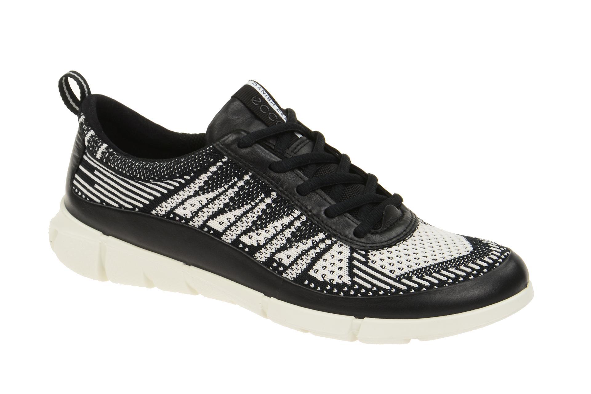 b2d7fede0f5408 Ecco Intrinsic 1 Schuhe schwarz weiß - Schuhhaus Strauch Shop