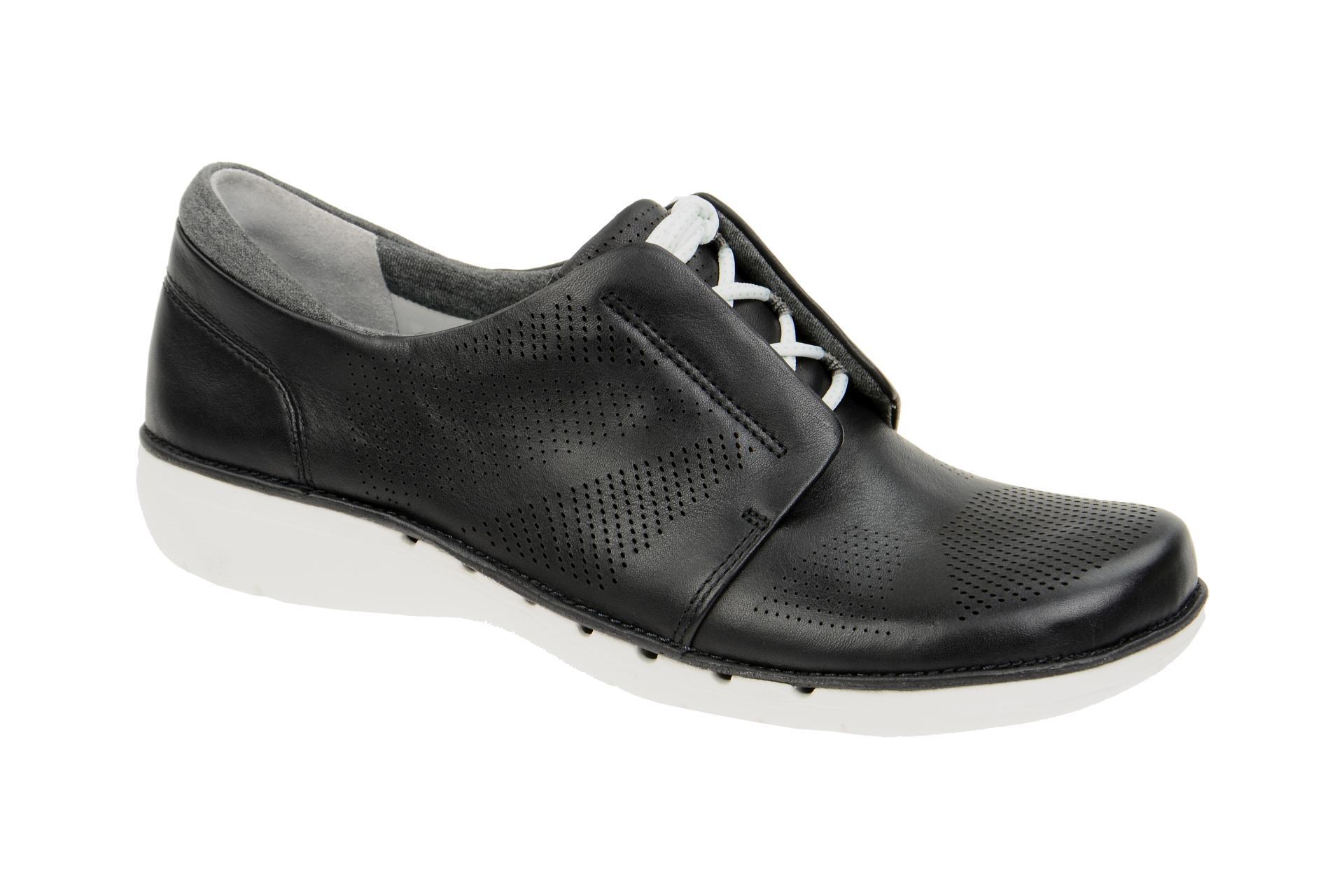 Sneakers leder schwarz clarks preisvergleiche for Ordnungssystem fa r schuhe