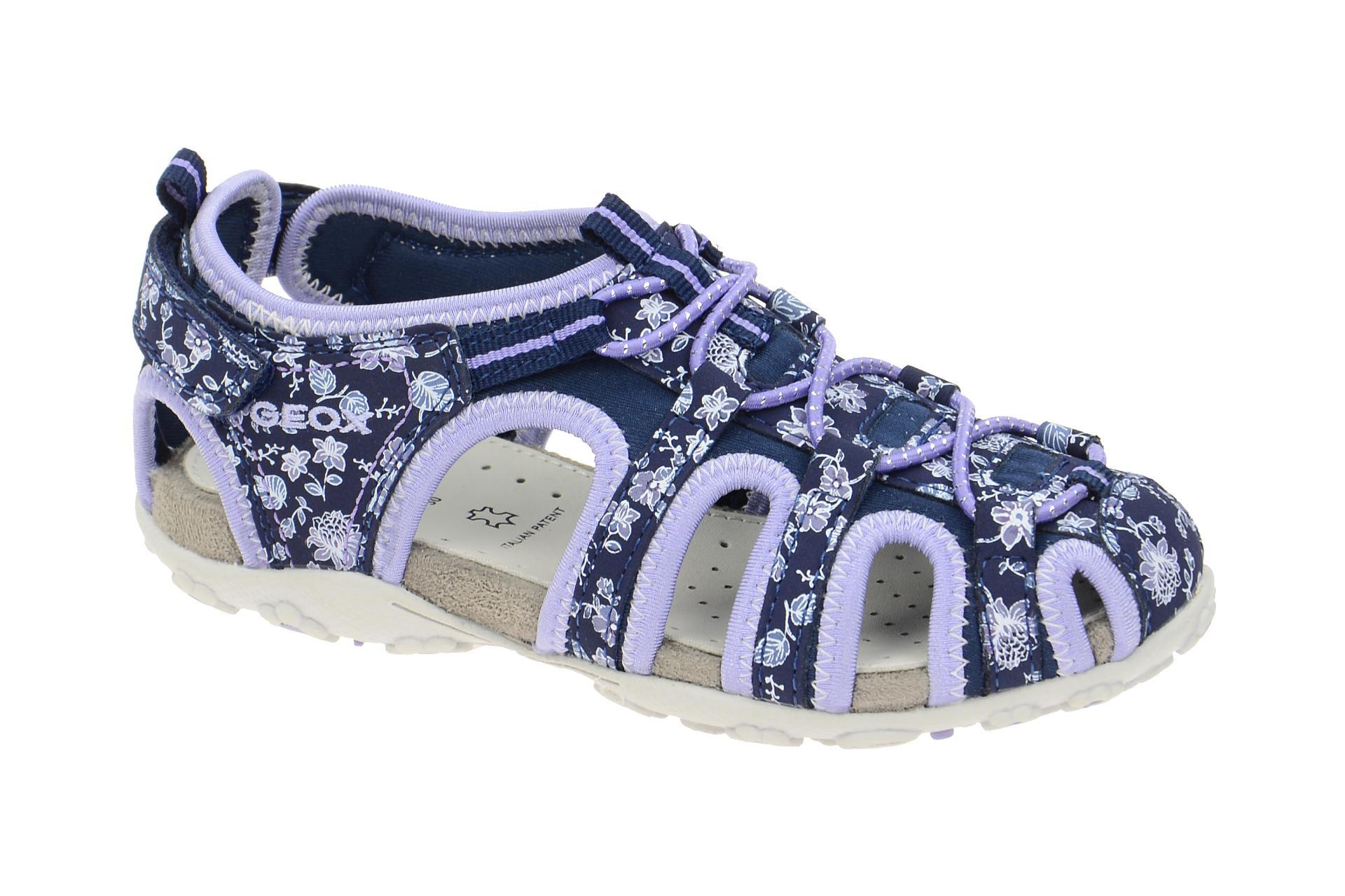 geox roxanne kinder sandale blau lila j52d9c 0ce15 c4215. Black Bedroom Furniture Sets. Home Design Ideas