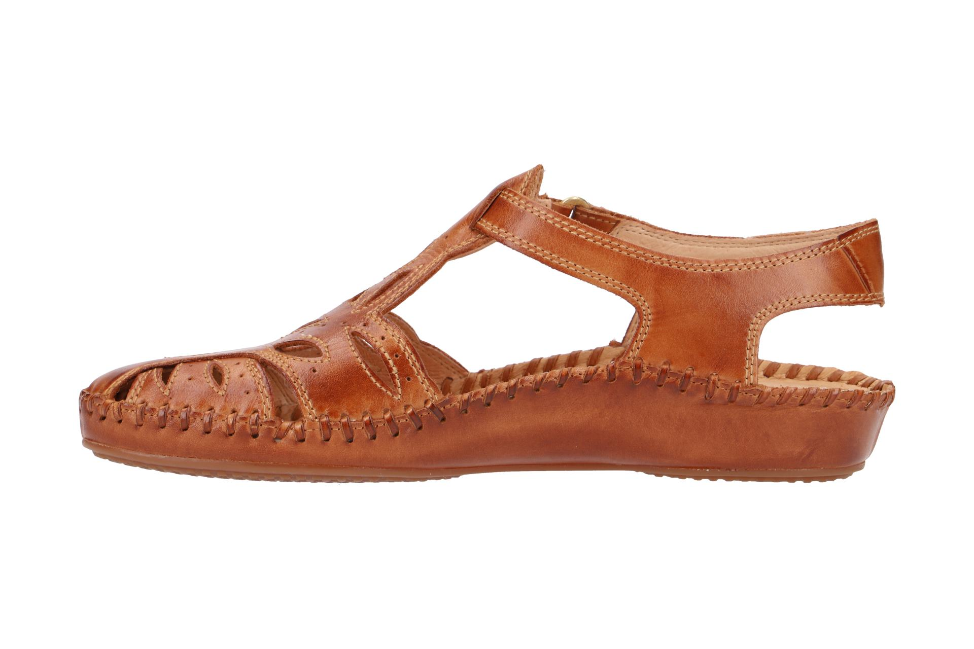 pikolinos schuhe p vallarta braun damen sandale sandaletten 655 8312l brandy ebay. Black Bedroom Furniture Sets. Home Design Ideas
