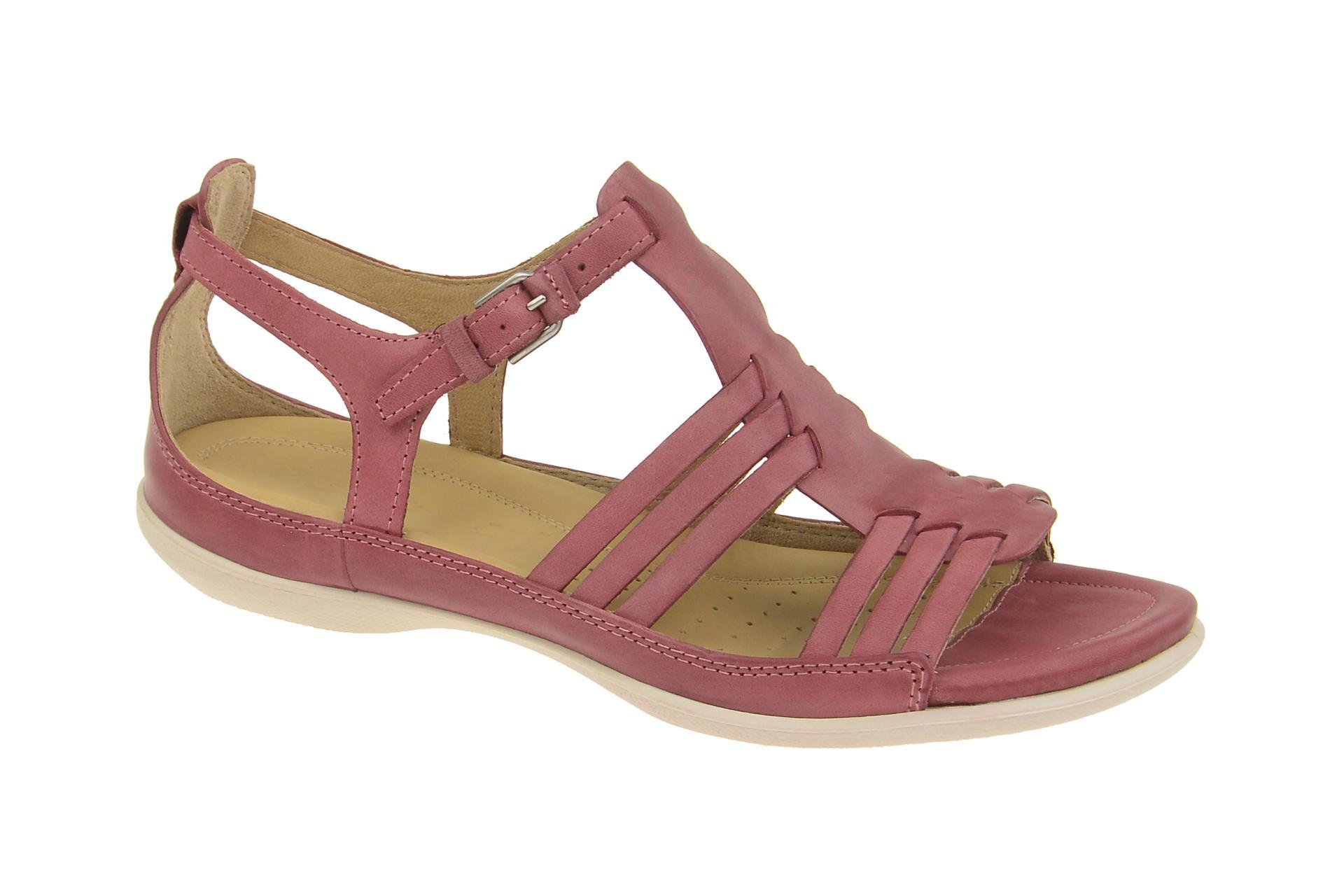 ecco damen sandalette riemchen sandalen flash rot petal. Black Bedroom Furniture Sets. Home Design Ideas