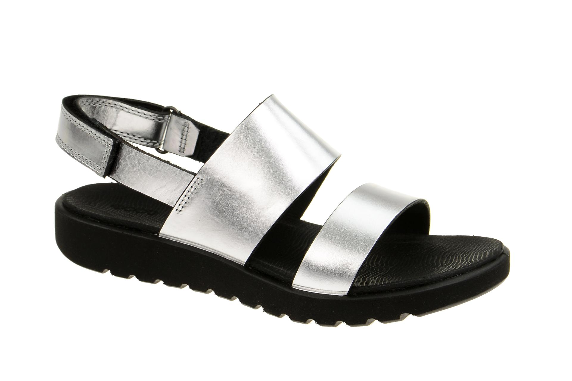 outlet store ced03 d5749 Ecco Freja Sandale silber metallic 23864302097