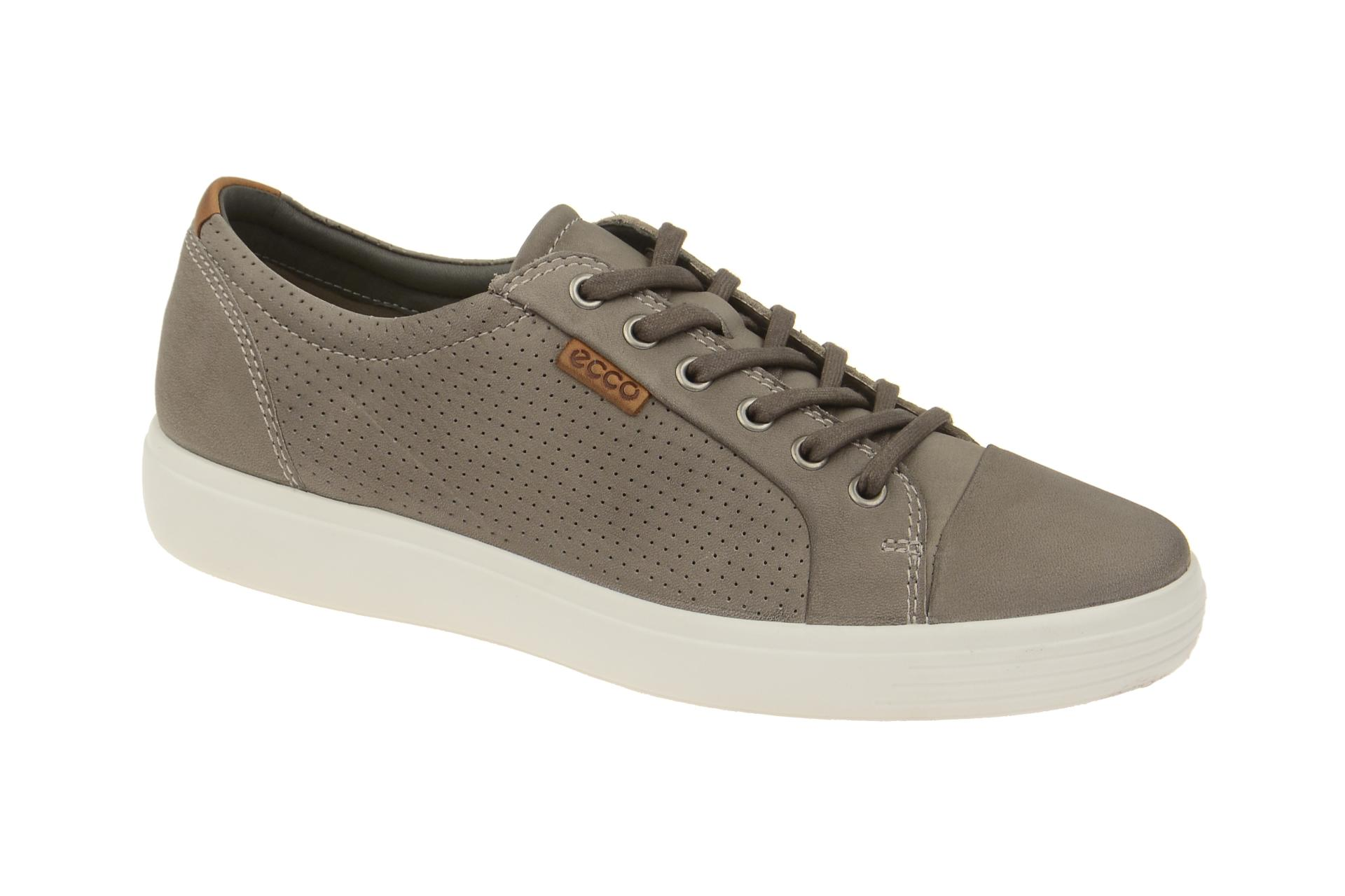 official photos b2a20 fc437 Ecco Schuhe Sneaker Soft 7 grau weiß