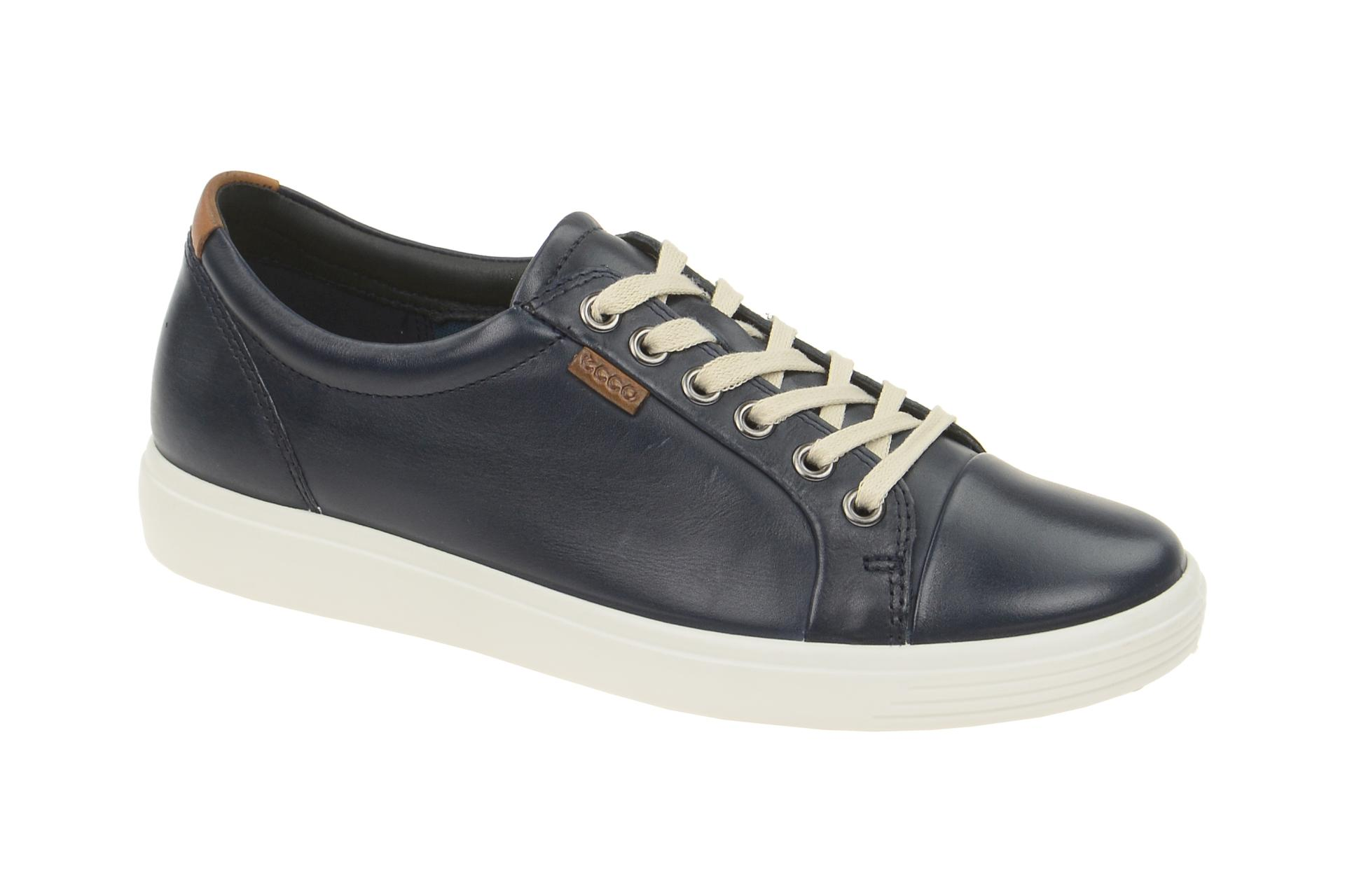 Ecco Soft 7 Schuhe blau Damen Sneakers - Schuhhaus Strauch Shop 0367d11a4f