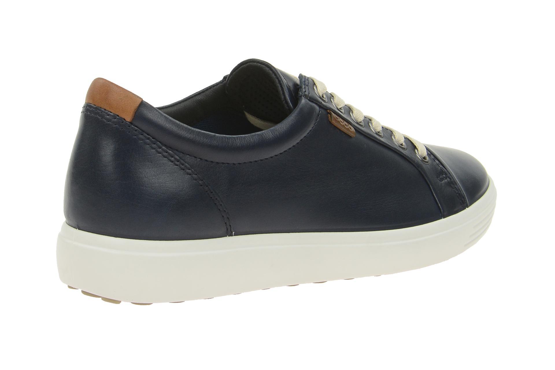 ecco soft 7 schuhe blau damen sneakers schuhhaus strauch. Black Bedroom Furniture Sets. Home Design Ideas