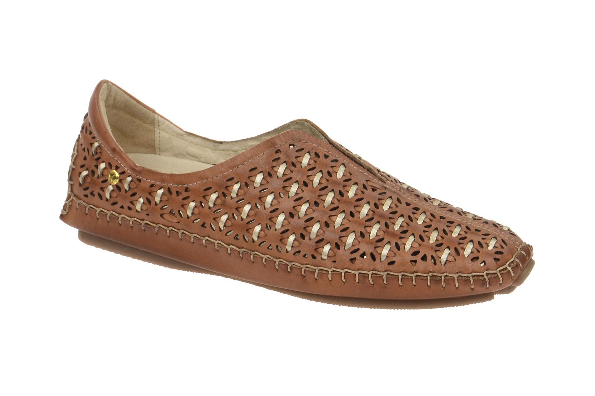 Pikolinos Chaussures Jerez Marron Femmes Chaussures confortables pantoufles 578-3509c1 Brandy Neuf