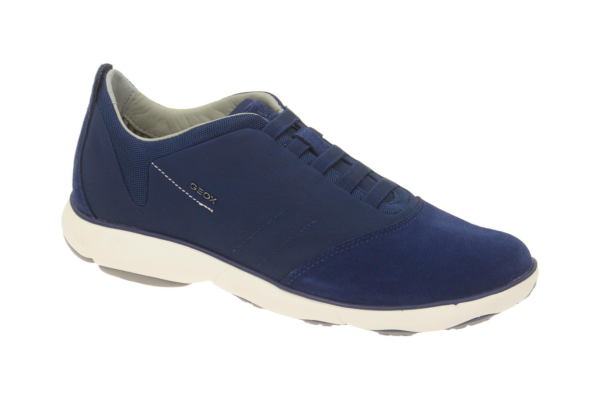 Details zu Geox Schuhe NEBULA blau Herrenschuhe bequeme Slipper U52D7B 01122 C4072 NEU
