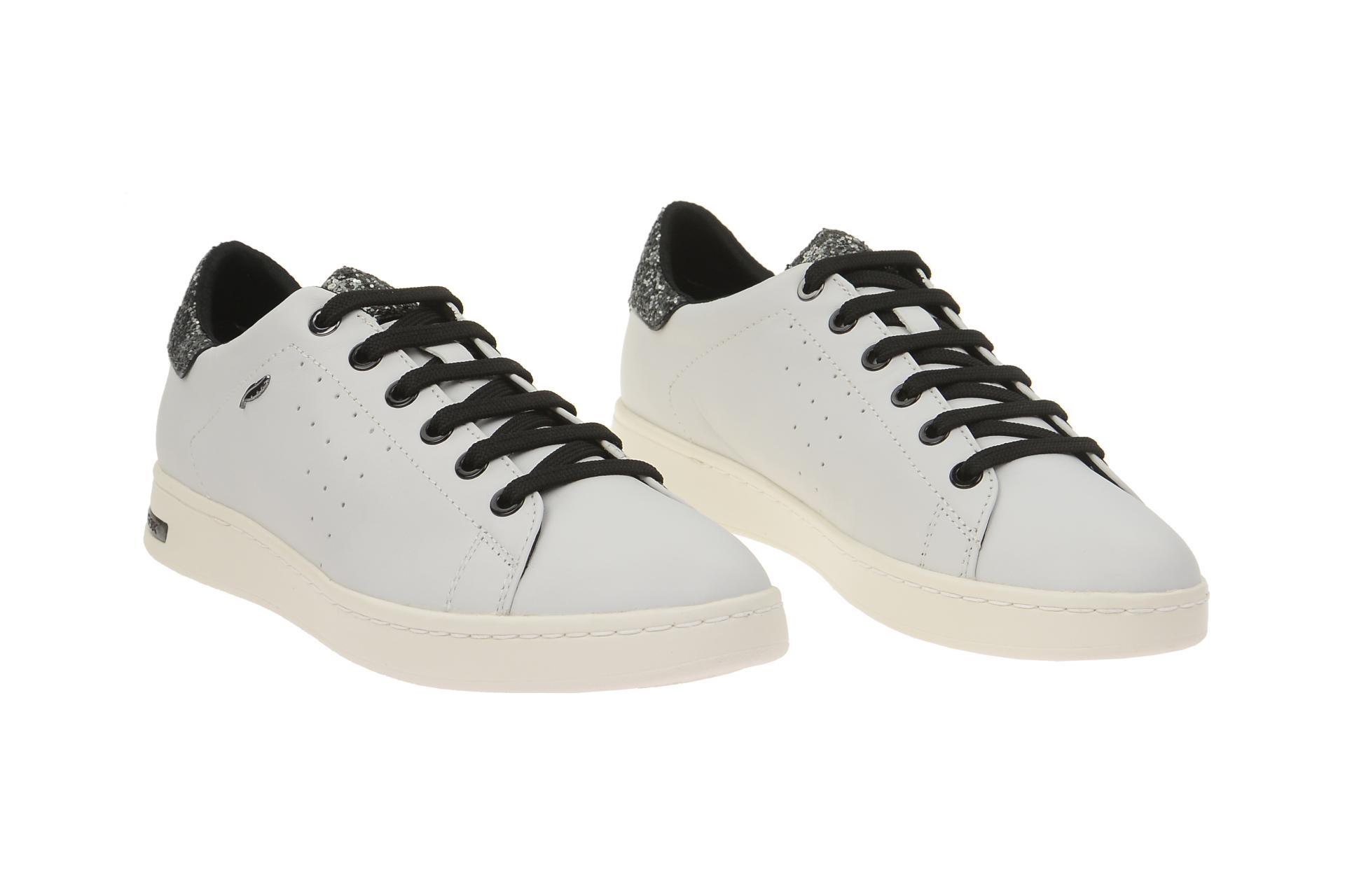 Details zu Geox Schuhe JAYSEN weiß Damenschuhe Halbschuhe D621BA 085EW C0007 NEU