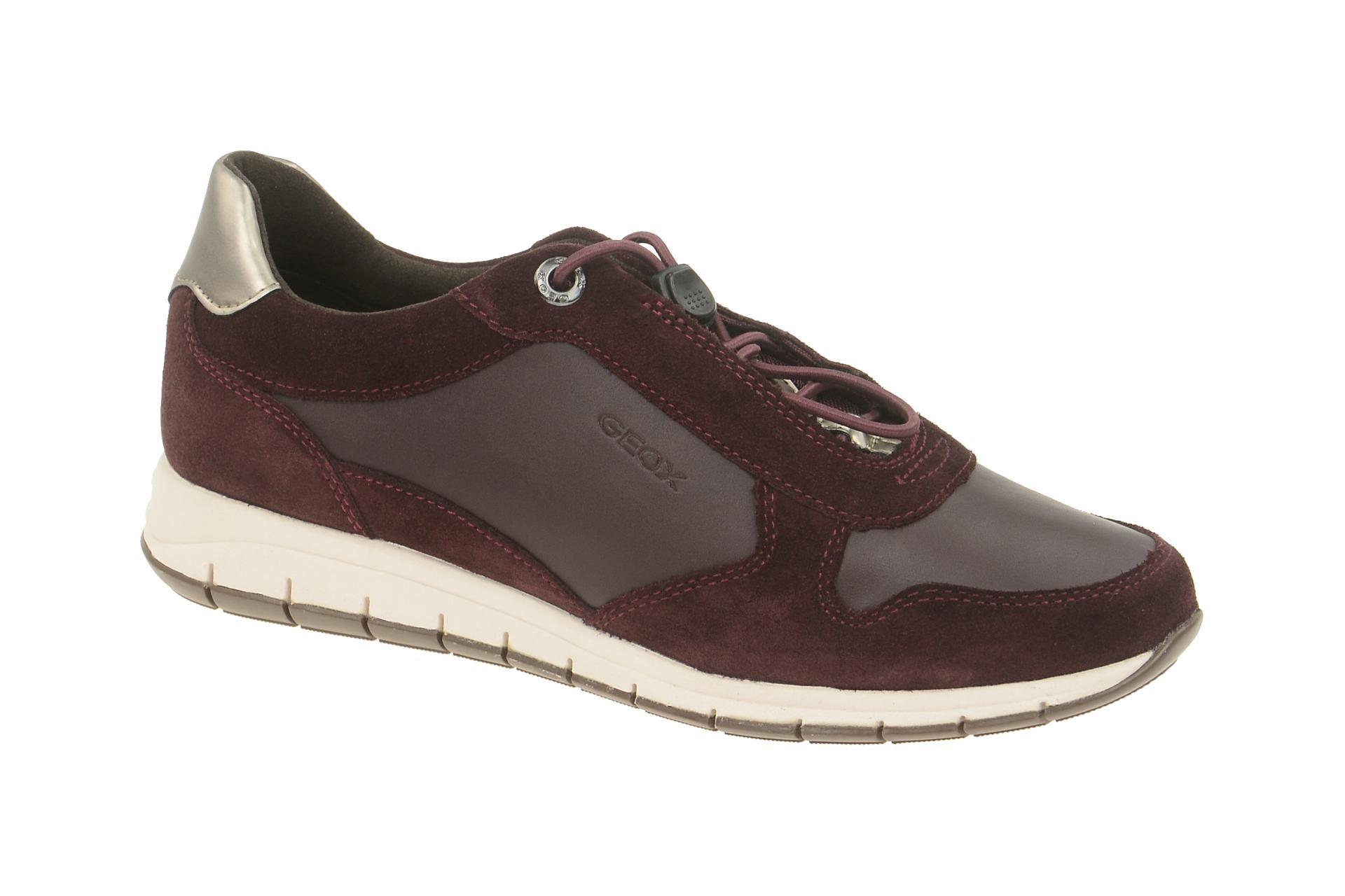 Geox CONTACT CONTACT Damen Damen CONTACT CONTACT zapatos sportliche Schnür Halb ... c77ebe