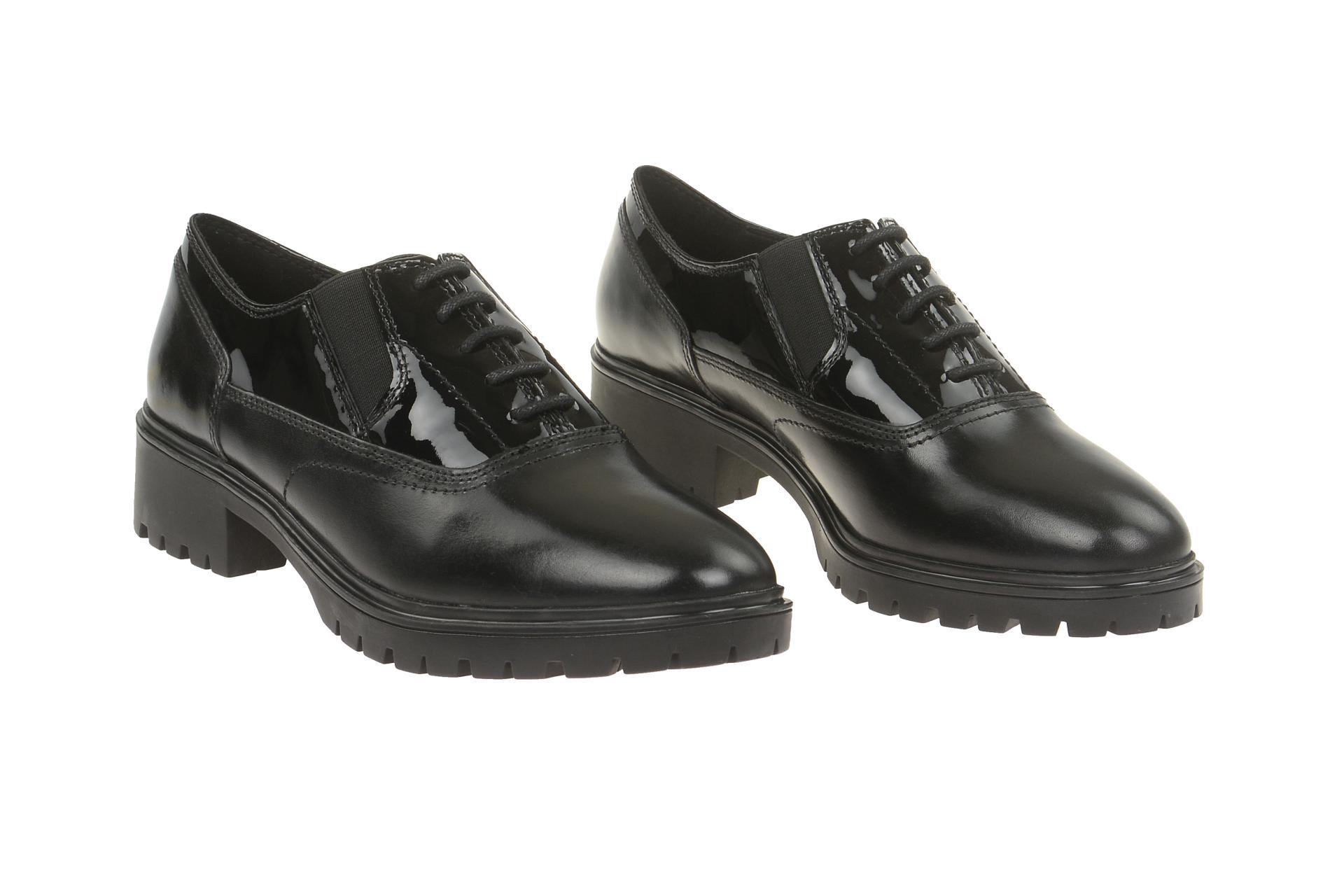 best website d4829 129fb Details zu Geox Schuhe PEACEFUL schwarz Damenschuhe D640GH 0EV43 C9999 NEU