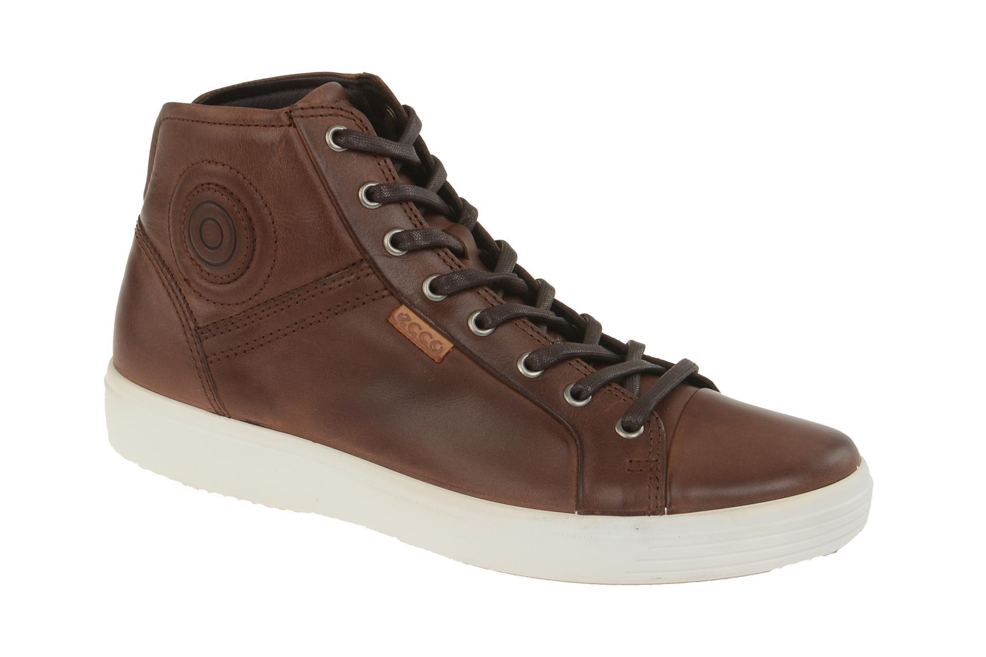 c8274aa5251420 ecco Soft 7 Stiefel braun mahogany Boots - Schuhhaus Strauch Shop