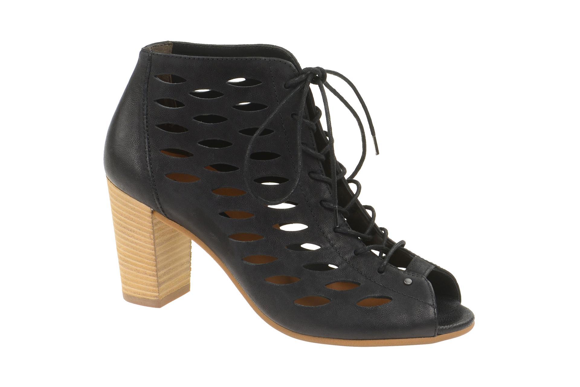 competitive price 769a7 dbe67 Details zu Paul Green Schuhe 6472 schwarz Damen Sandale Sandaletten  6472-025 NEU