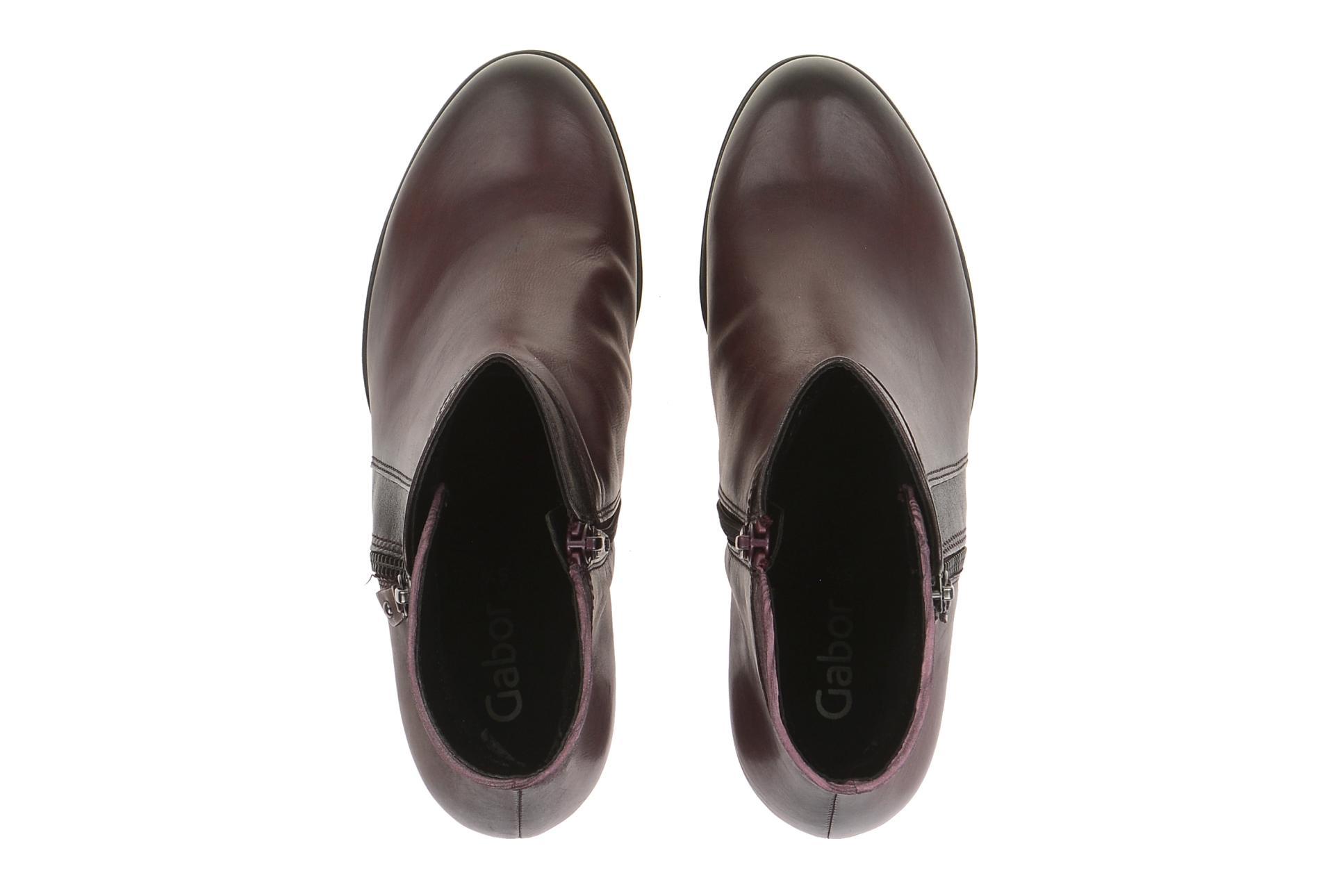Gabor Schuhe 55.783 rot Damen Stiefeletten bequeme Stiefelette 55.783.25 NEU 6c1568dd45
