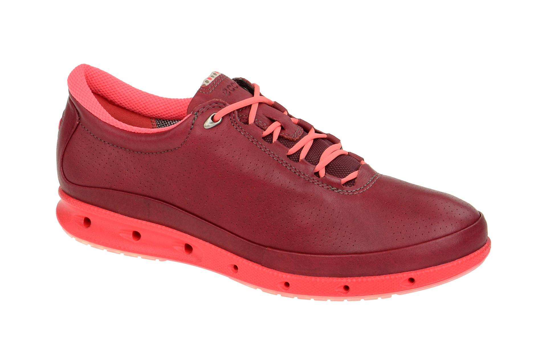 low priced affa2 781d1 Ecco Cool Schuhe rot pink GORE-TEX Surround