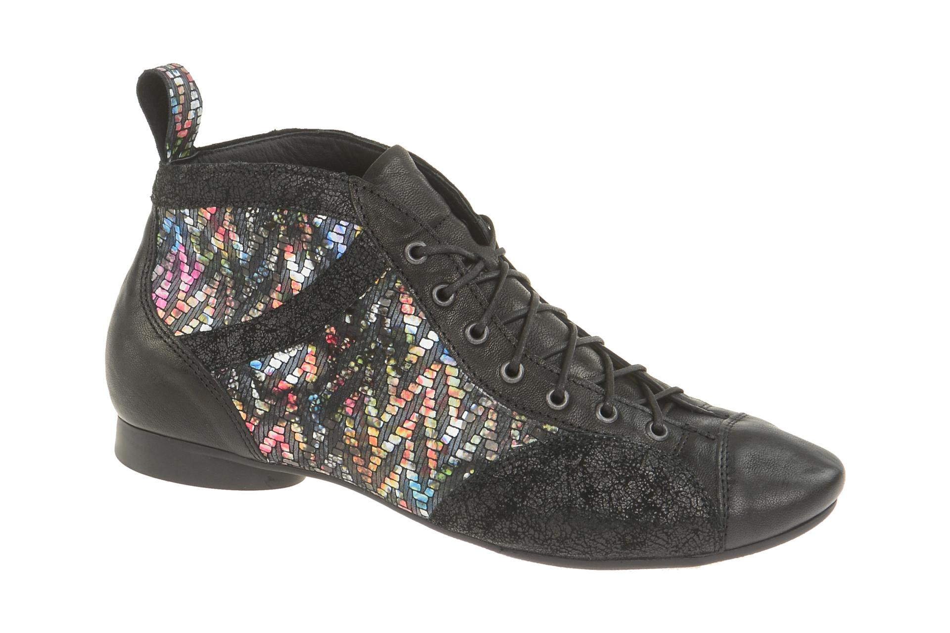 the latest 14767 fb8e4 Details zu Think Schuhe GUAD schwarz Damen Stiefeletten elegante  Stiefelette 7-87732-03 NEU
