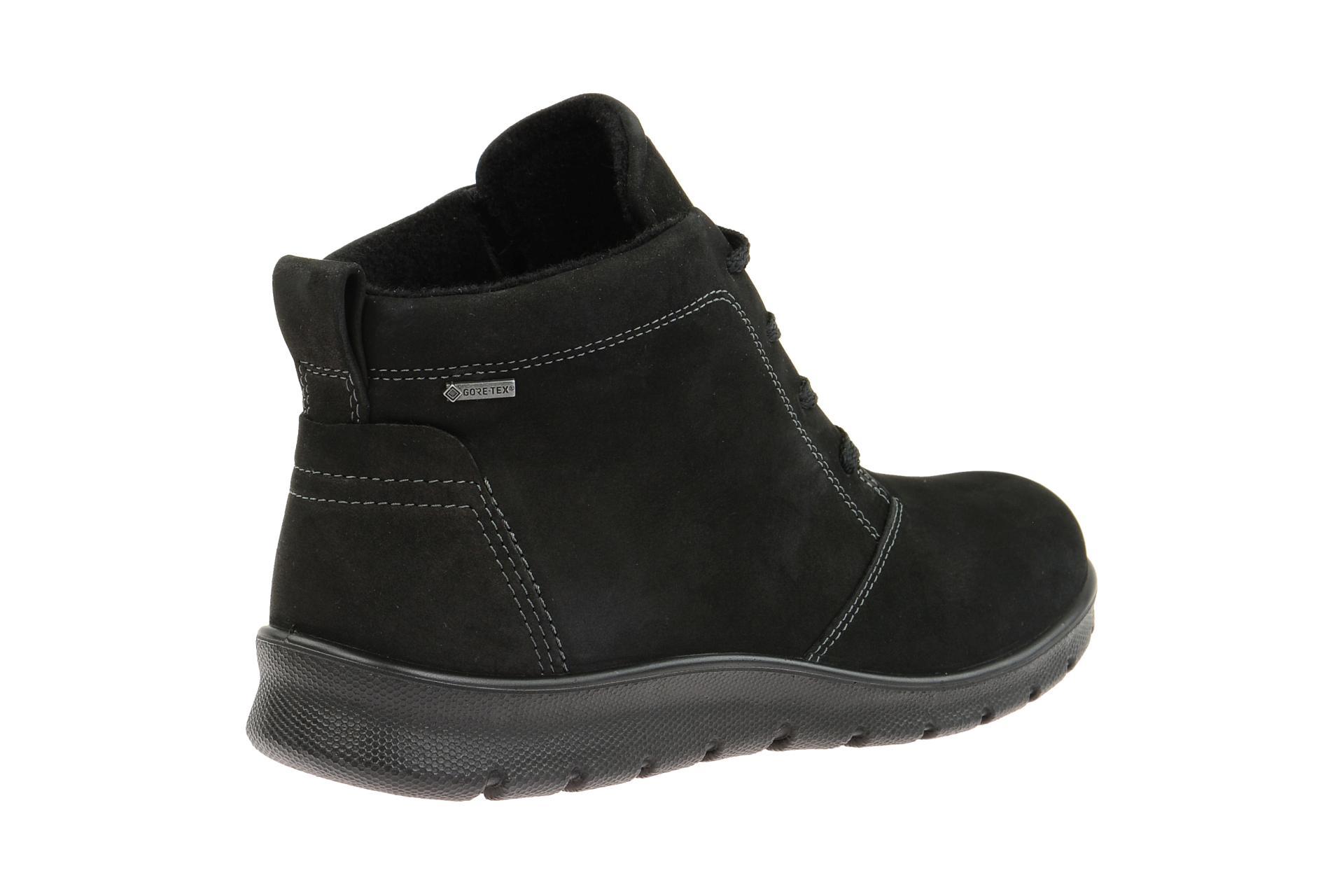 8bbcaa374cb4d8 Ecco Schuhe BABETT BOOT schwarz Damen Stiefeletten Winterstiefelette  21558302001