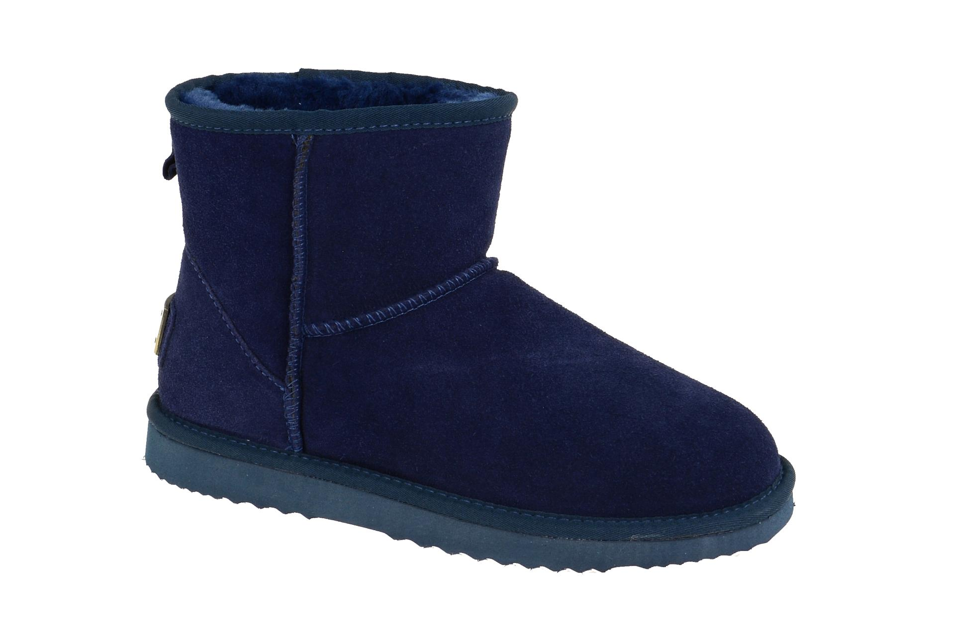 Oog Stiefel blau Teddy Fell Boots B5854 - Schuhhaus Strauch Shop 988e04df8b