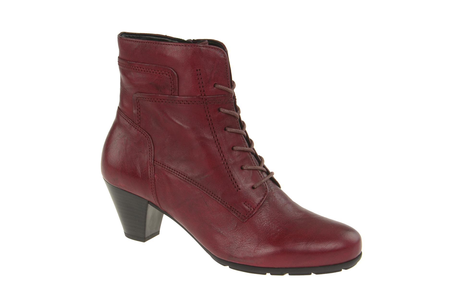 info for 998f4 7e12e Details zu Gabor Schuhe 95.644 rot Damen Stiefeletten elegante Stiefelette  95.644.55 NEU