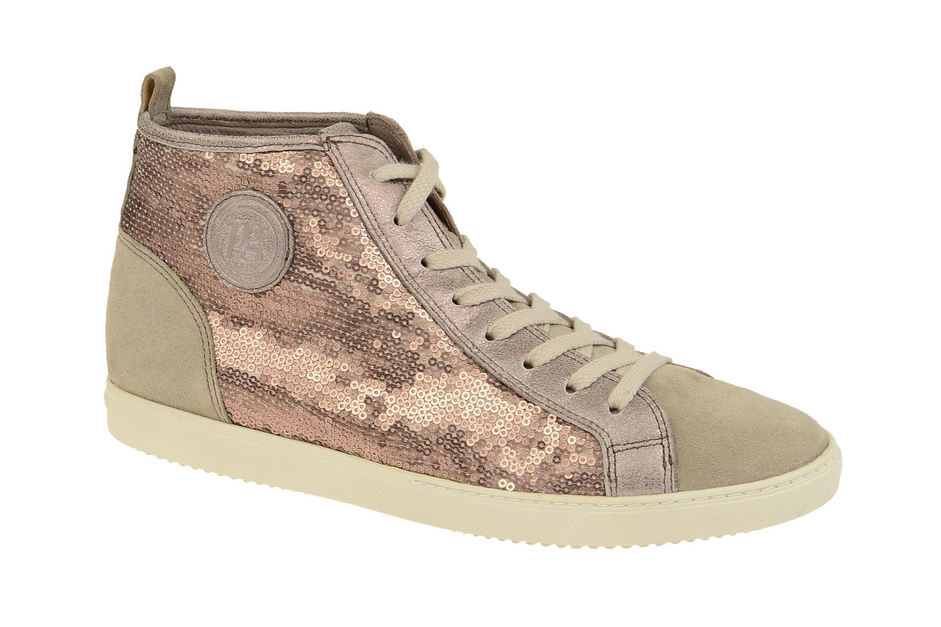 timeless design 6798e 2f284 Paul Green Schuhe beige rose Paillette 4239