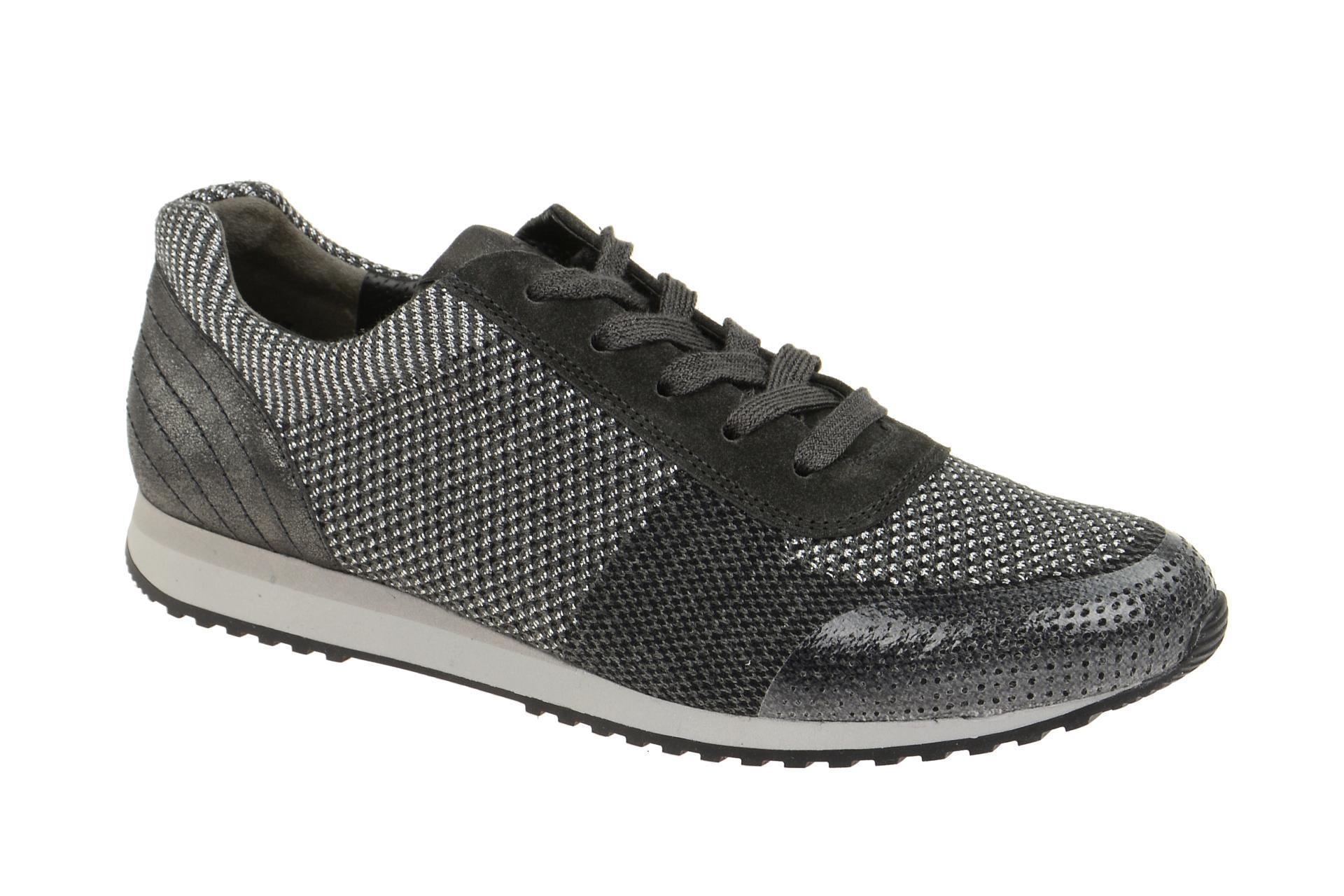 Paul Grün Schuhe 4336 grau Damenschuhe sportliche Schnür-Halbschuhe 4336-098