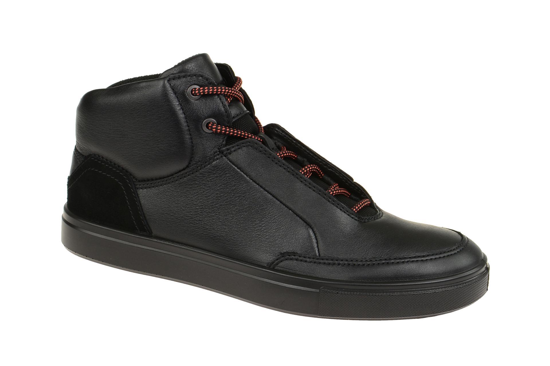 f9587a6eeb422e Ecco Schuhe KYLE schwarz Herrenschuhe Mid cut Sneaker 53066451052 ...