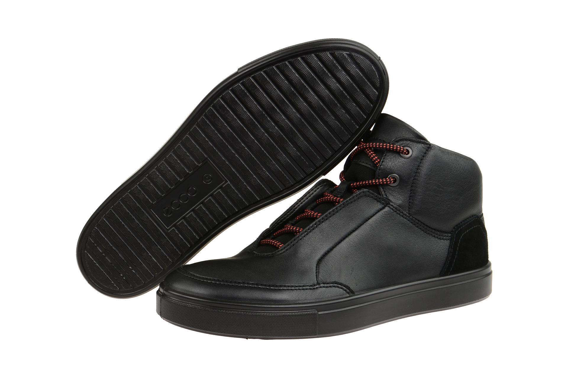 56cfa93ef56b4d Ecco Schuhe KYLE schwarz Herrenschuhe Mid cut Sneaker 53066451052 ...