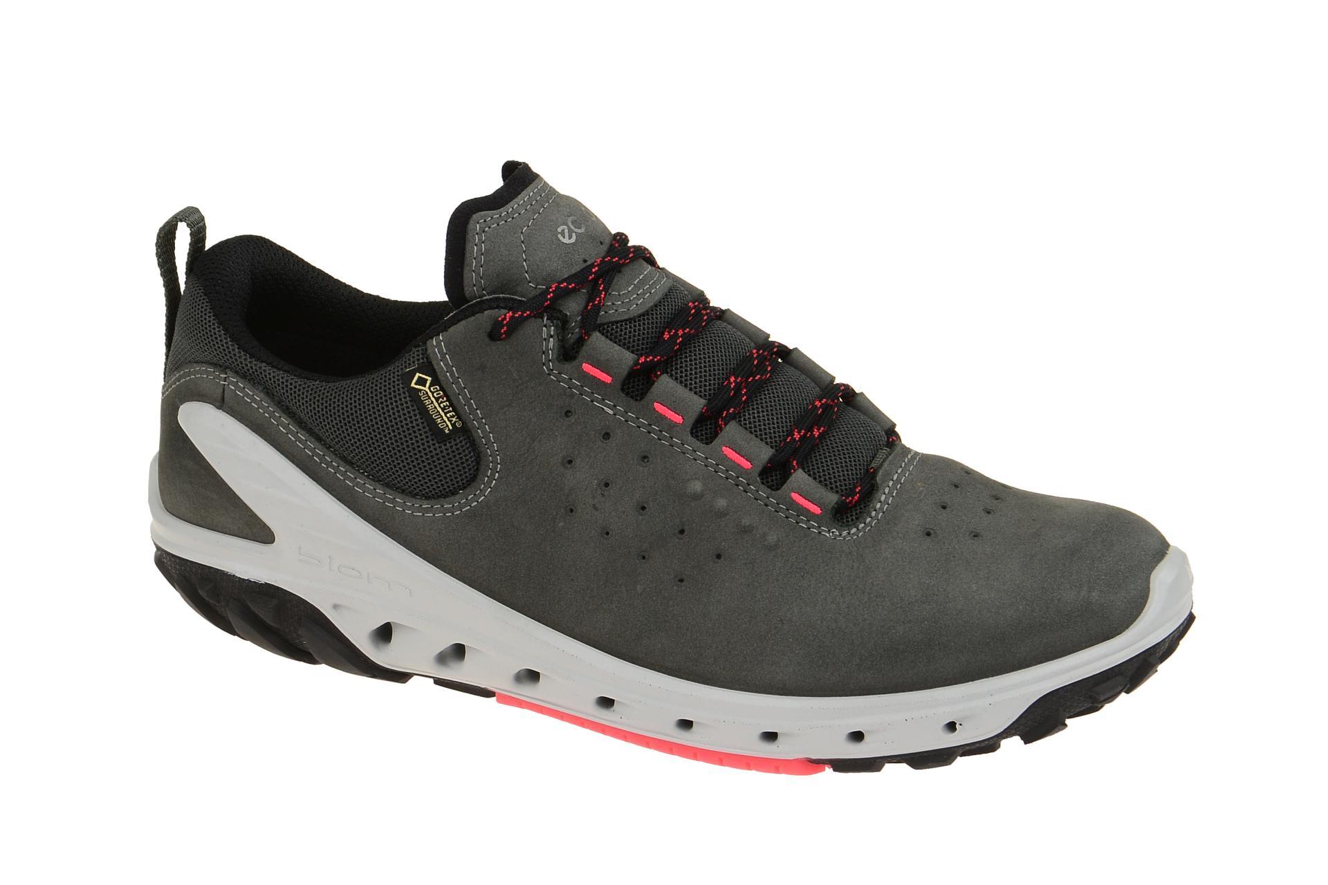 info for 907fc 8d041 ecco Biom Venture Schuhe dunkel-grau Gore-Tex