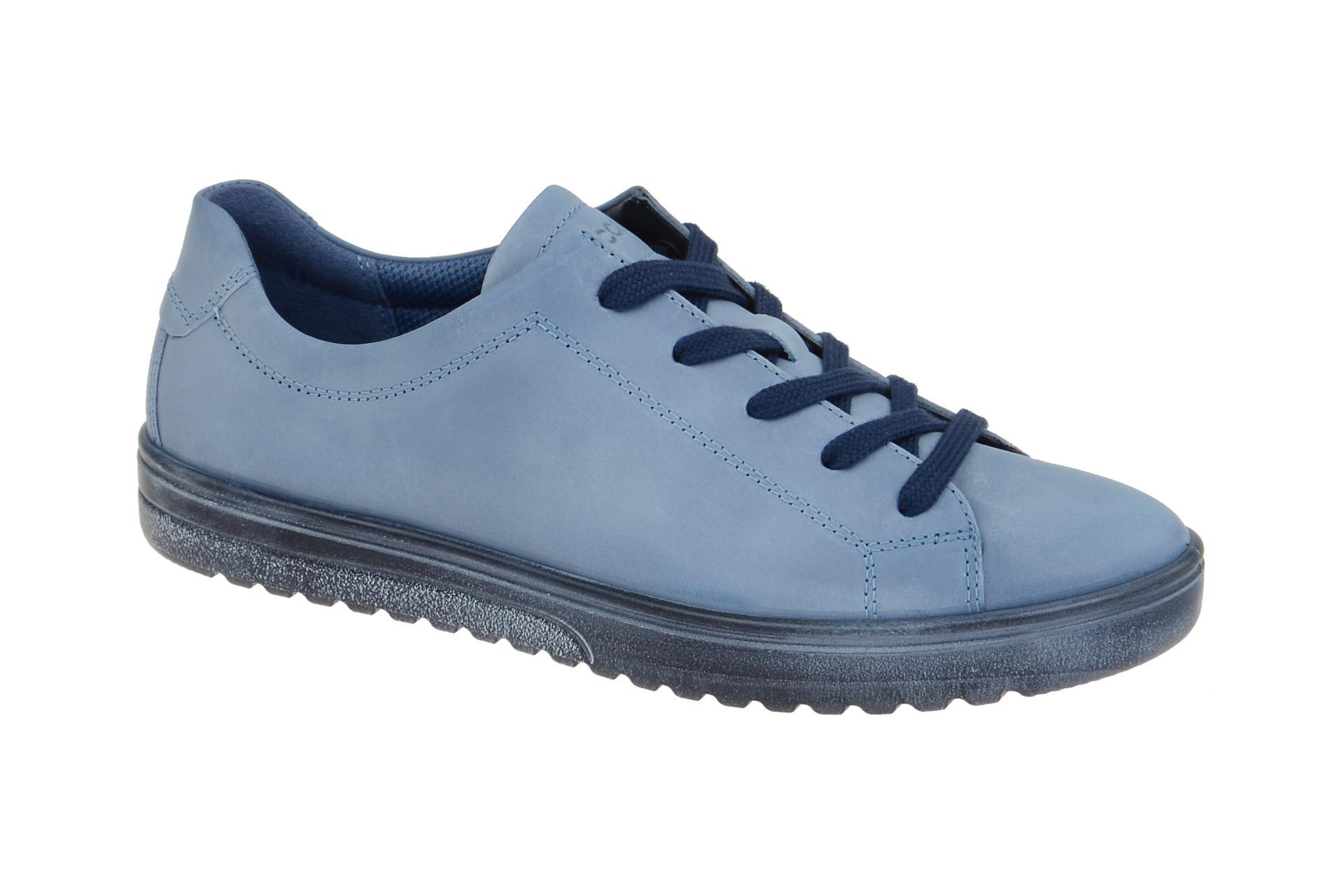 bfb6880c505a76 Ecco Fara Schuhe blau retro Sneaker - Schuhhaus Strauch Shop