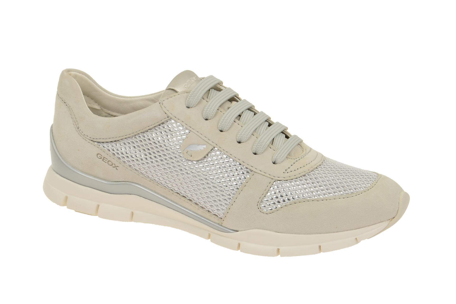 Geox Sukie A Sneakers in grau Sportschuhe S4j47DNCDC