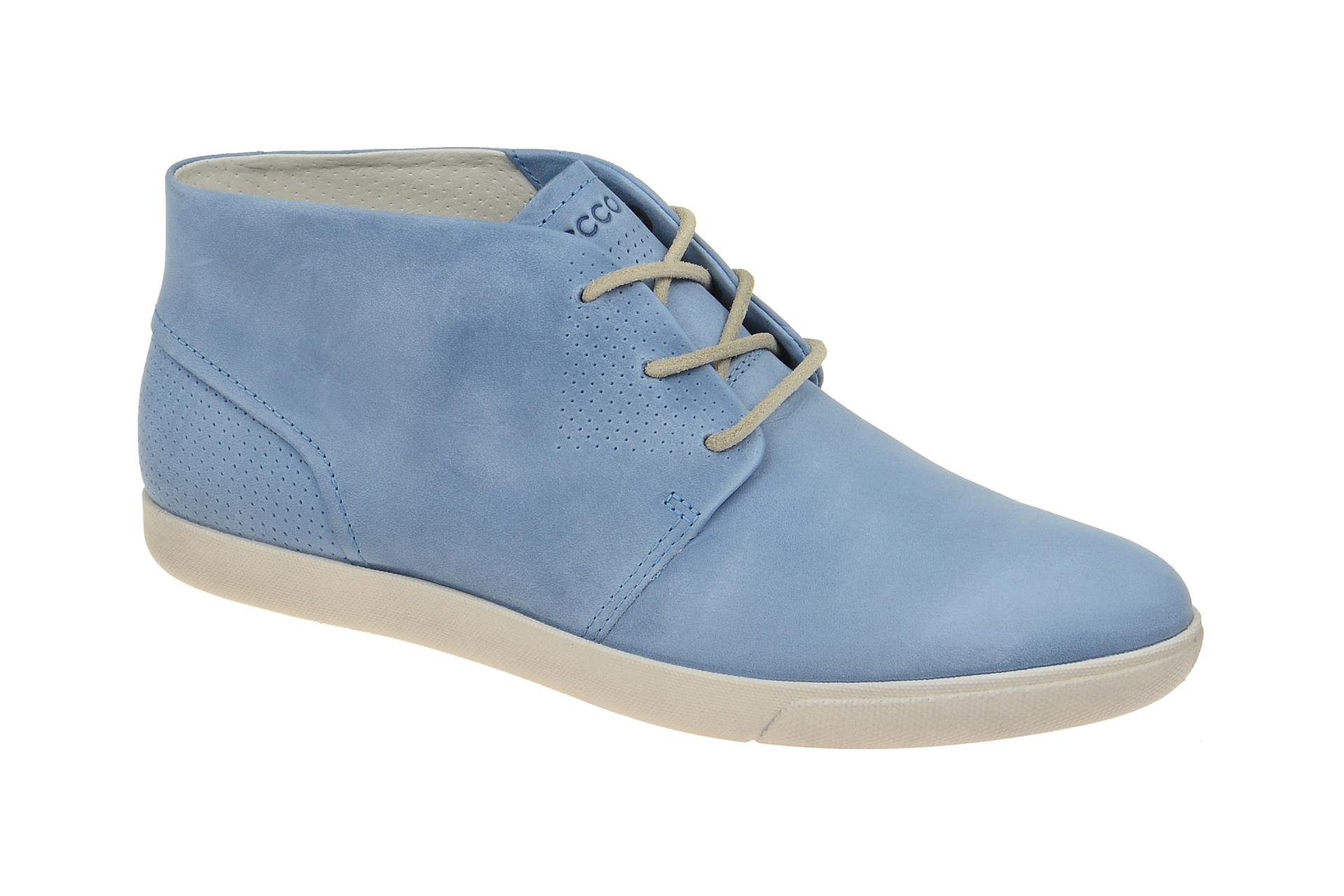 Schuhhaus Schuhe Ecco Retro Damara Boots Shop Strauch Blau H76XC6Uq