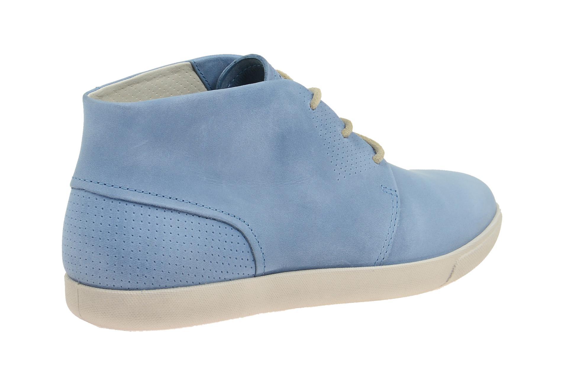 c72e62a24735 Ecco Schuhe DAMARA blau Damenschuhe bequeme Schnür-Halbschuhe 24531302471  NEU