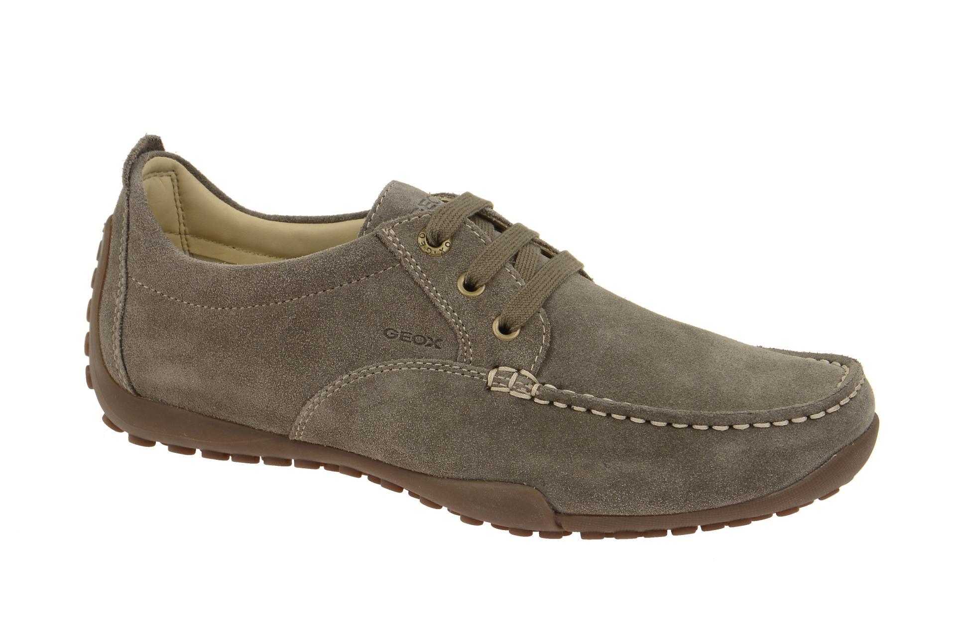 19a56c7d2ce7cd Geox Schuhe DRIVE SNAKE grau Herrenschuhe U2202N 00022 C6029 NEU